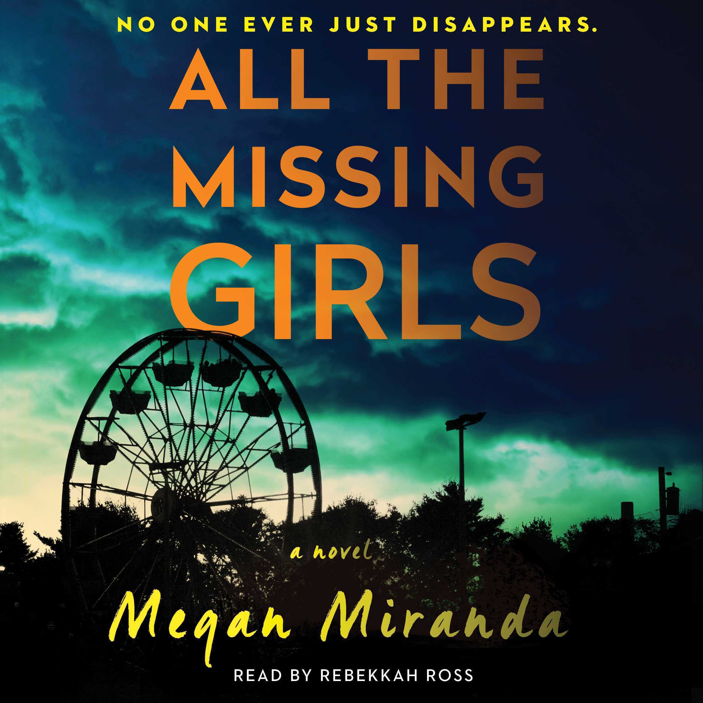 Printable All the Missing Girls: A Novel Audiobook Cover Art