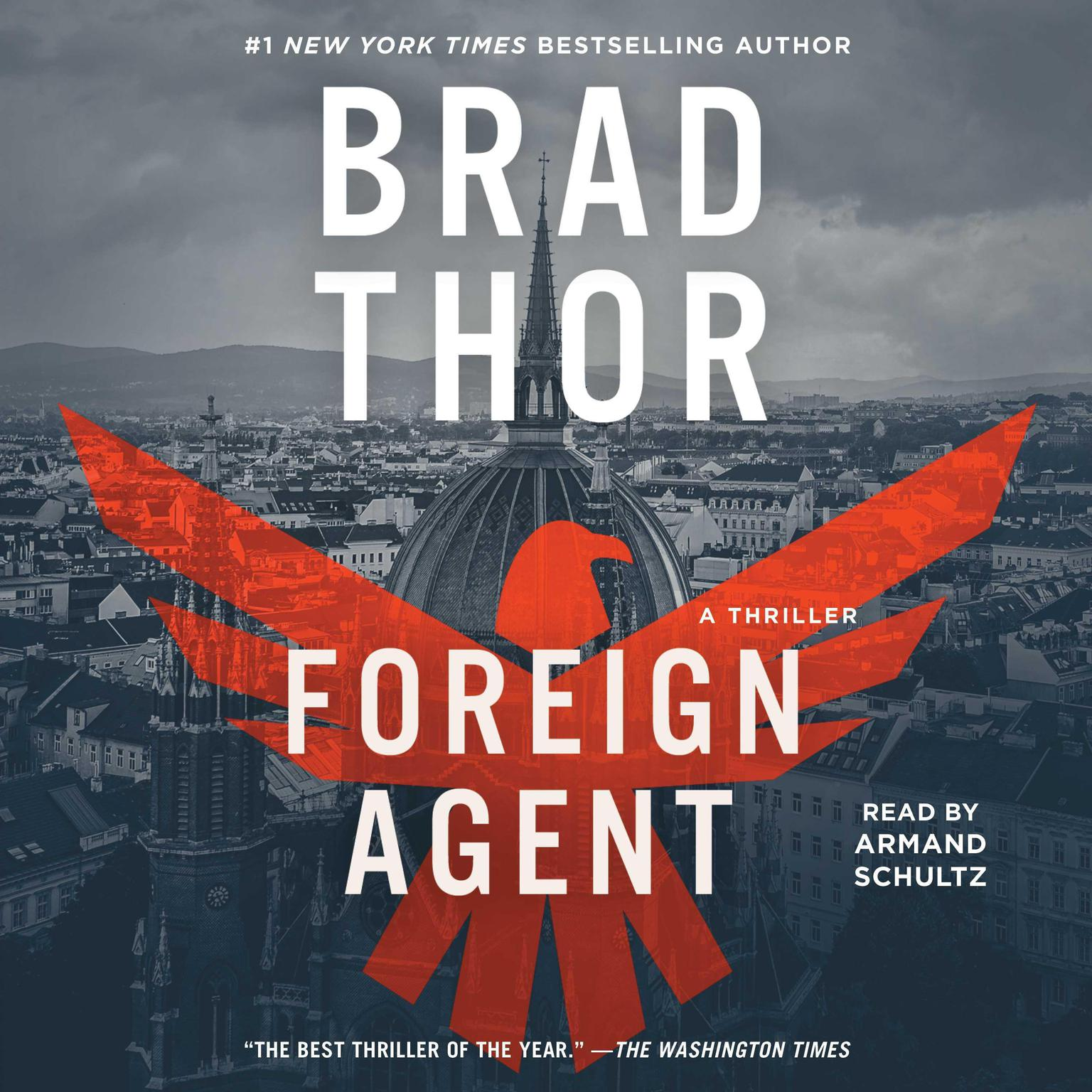 Printable Foreign Agent: A Thriller Audiobook Cover Art