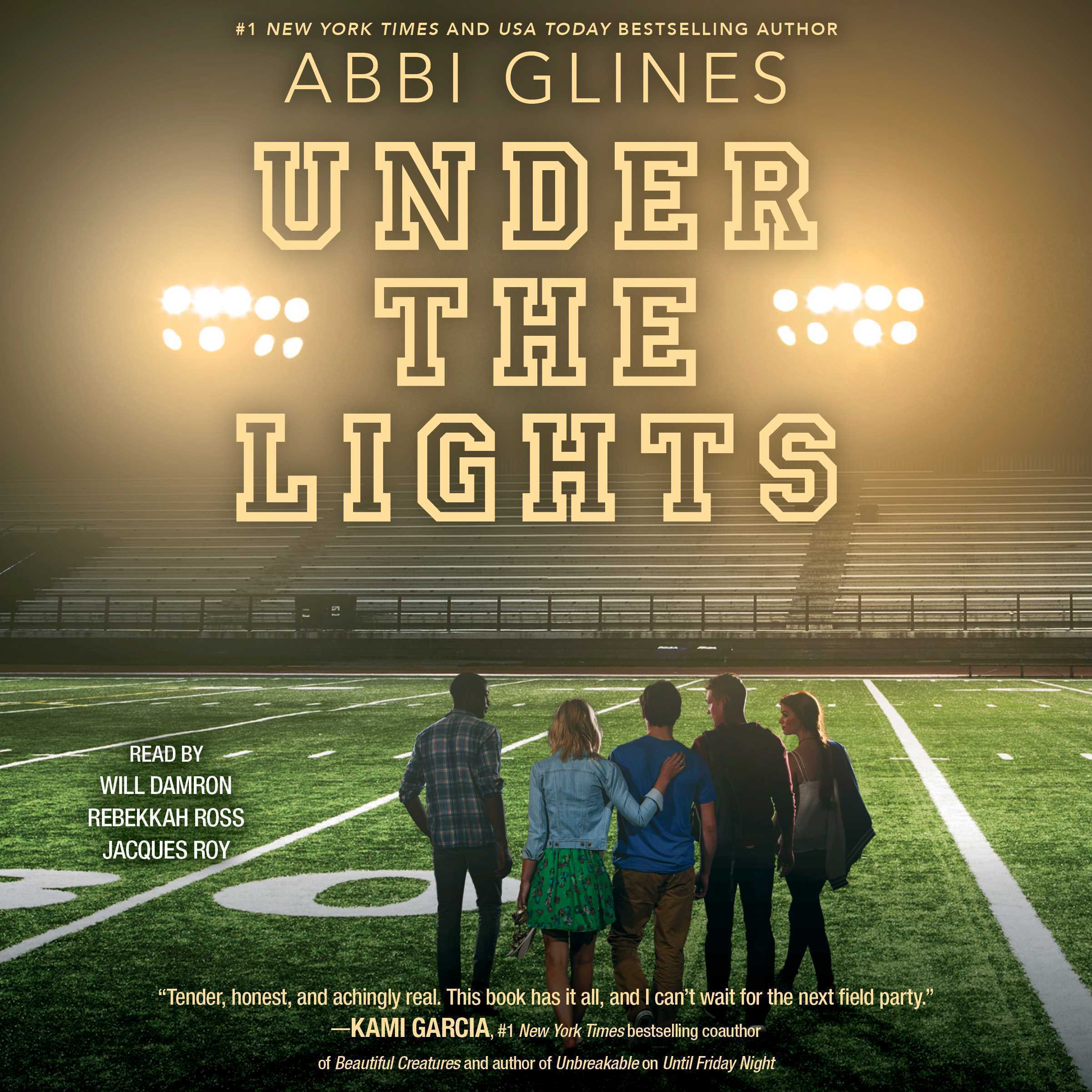 Printable Under the Lights Audiobook Cover Art