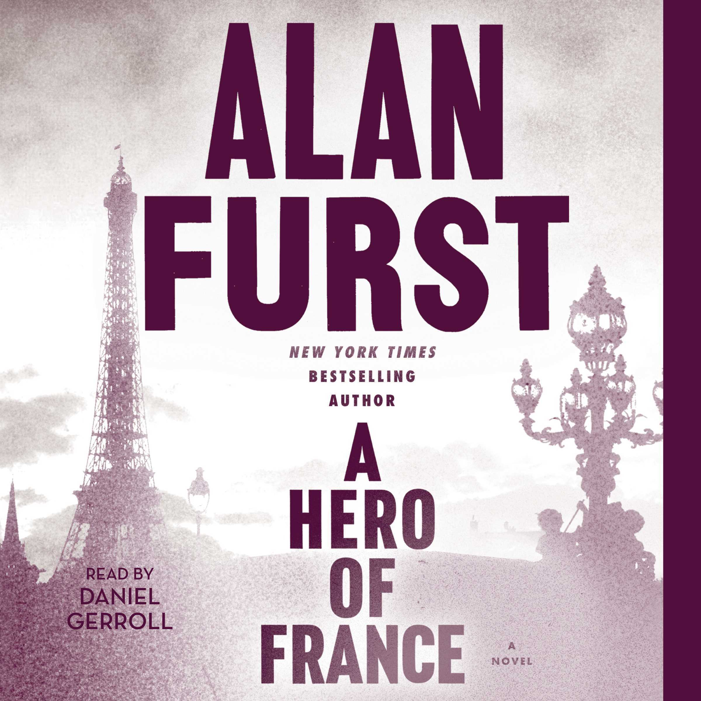 Printable A Hero of France Audiobook Cover Art