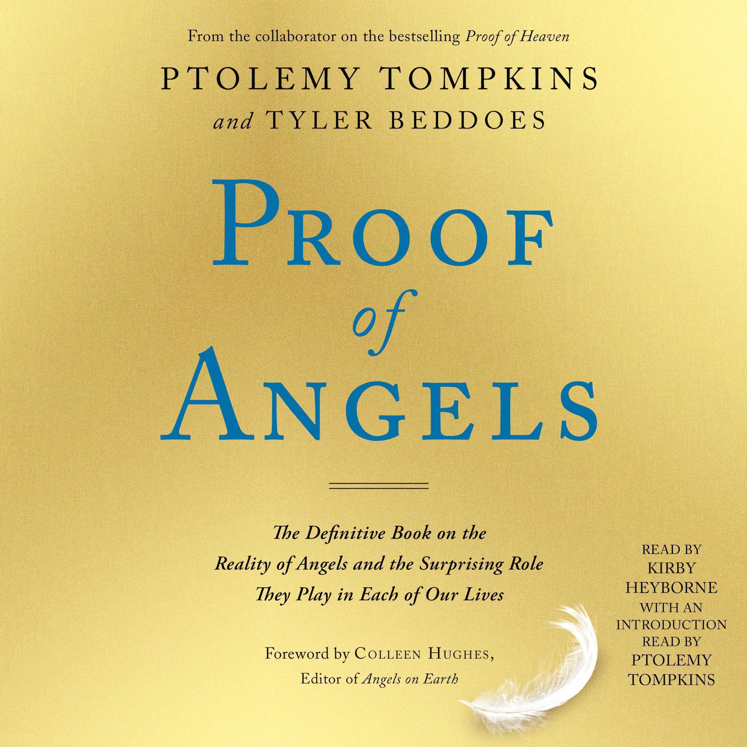 Printable Proof of Angels: The Definitive Book on the Reality of Angels and the Surprising Role They Play in Each of Our Lives Audiobook Cover Art