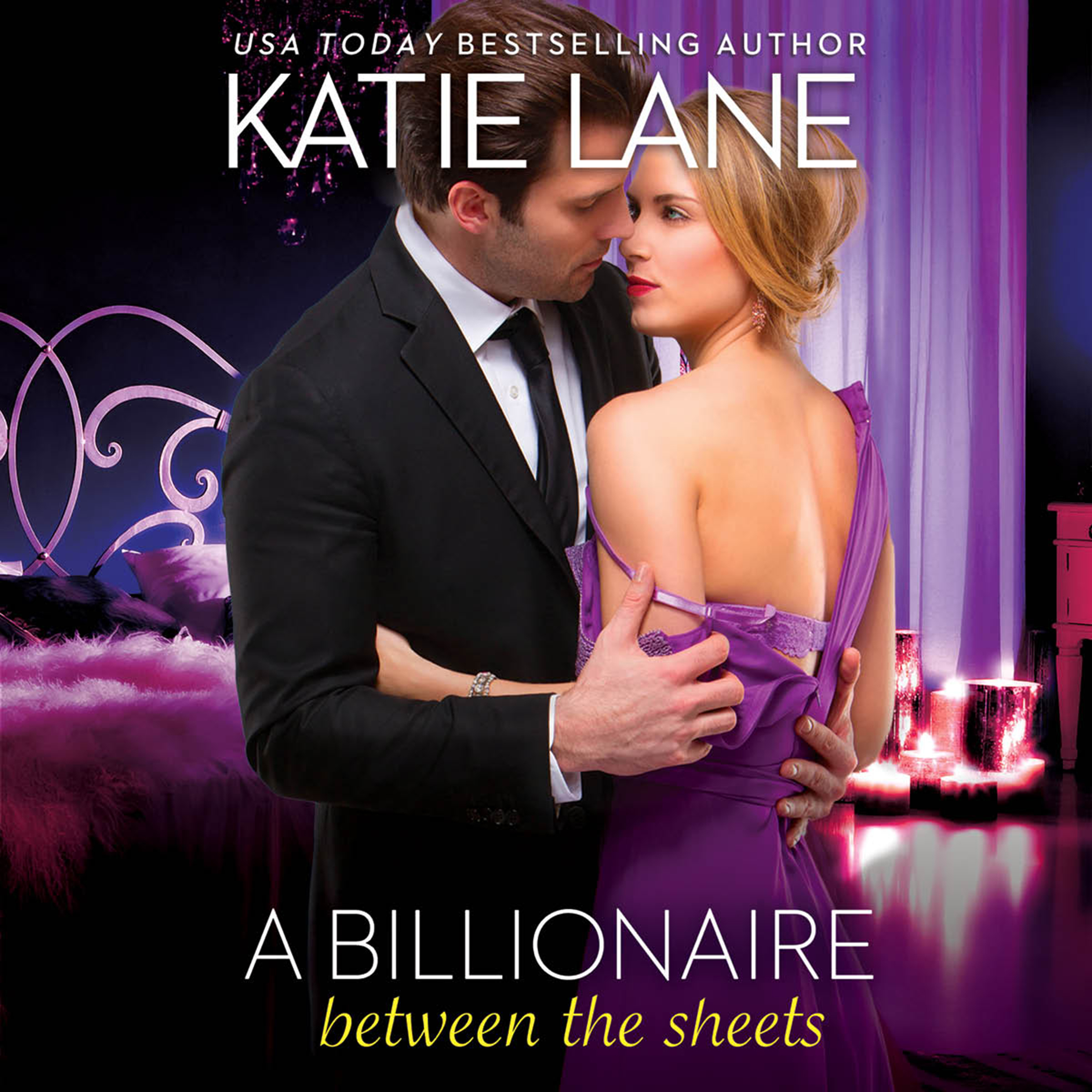 Printable A Billionaire Between the Sheets Audiobook Cover Art