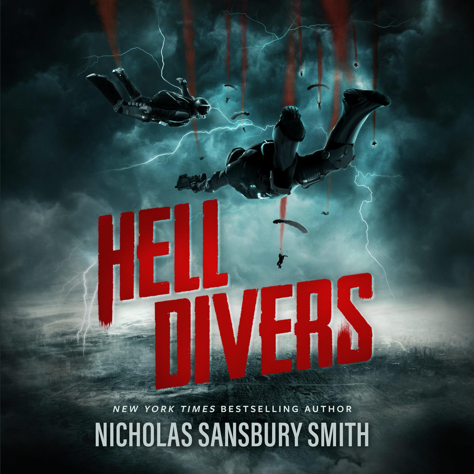 Printable Hell Divers Audiobook Cover Art