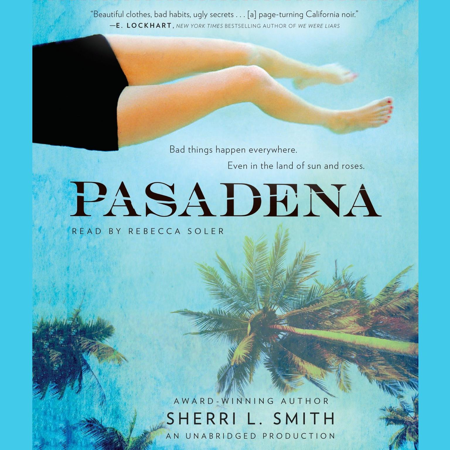 Printable Pasadena Audiobook Cover Art