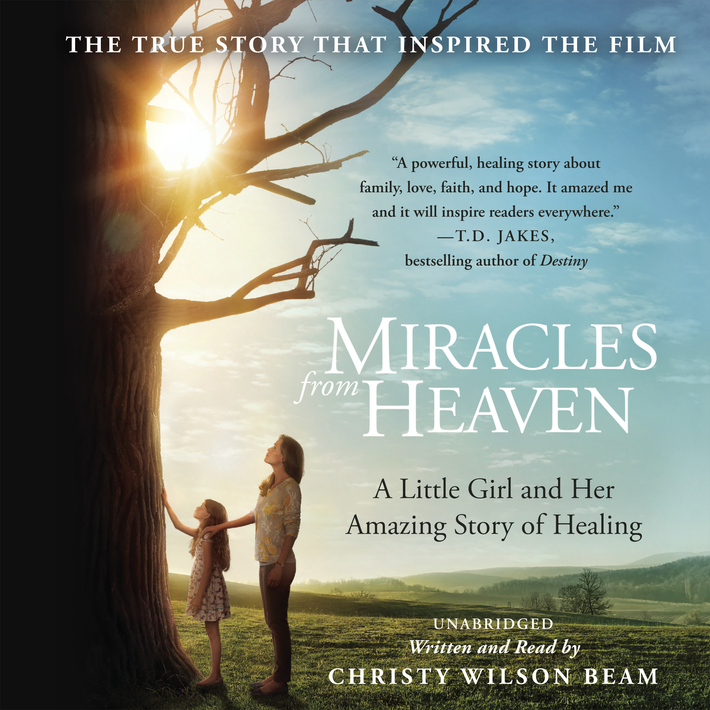 Printable Miracles from Heaven: A Little Girl and Her Amazing Story of Healing Audiobook Cover Art