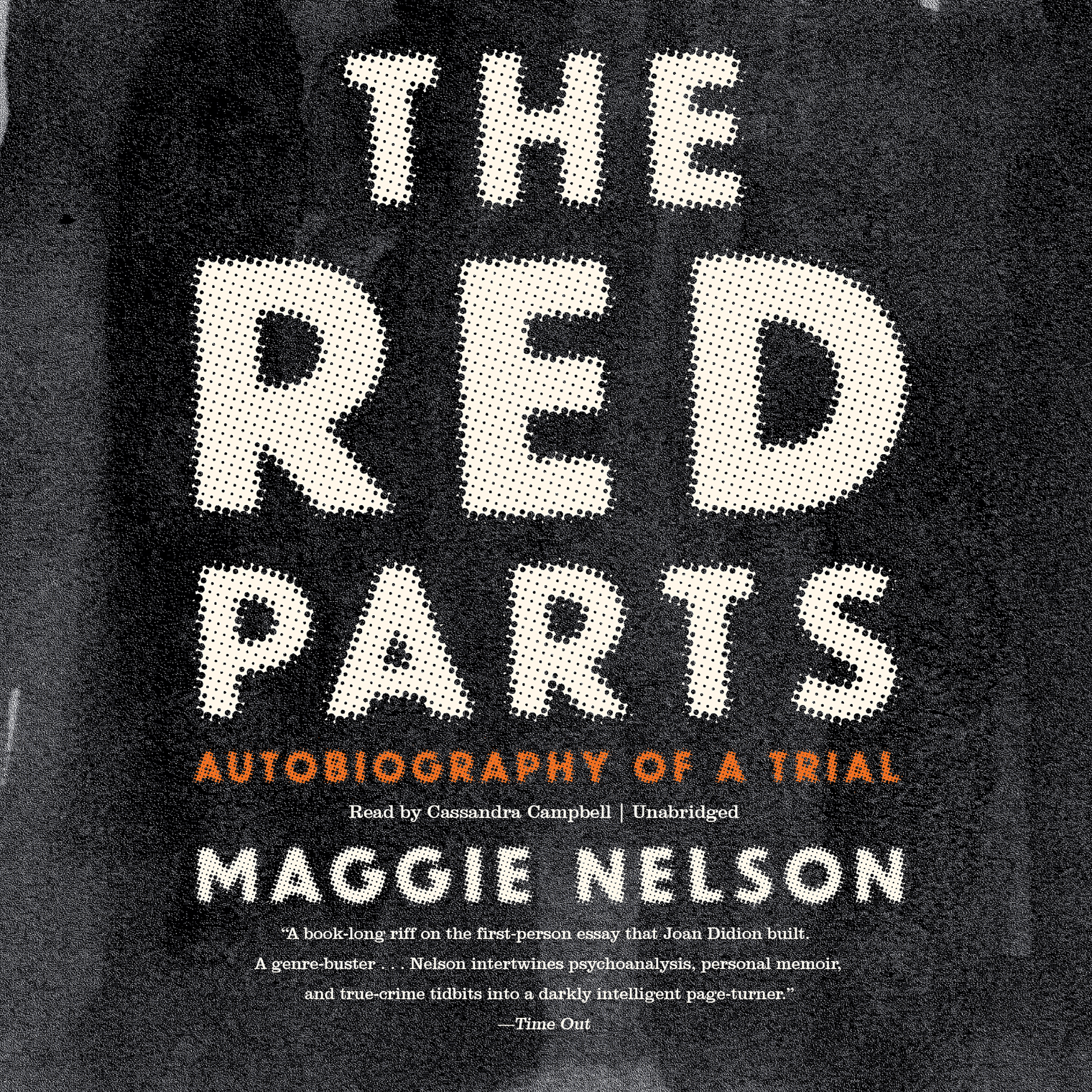 Printable The Red Parts: Autobiography of a Trial Audiobook Cover Art