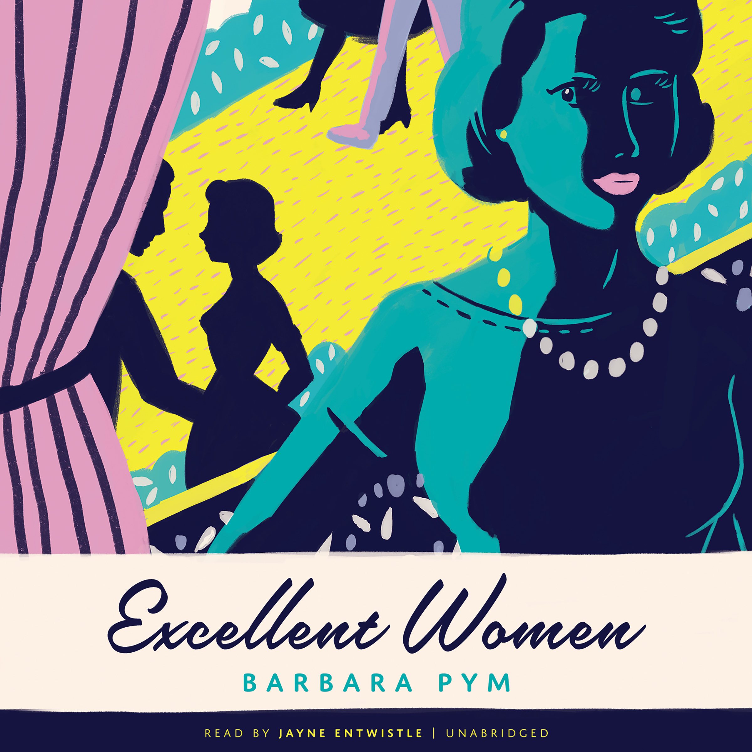 Printable Excellent Women Audiobook Cover Art