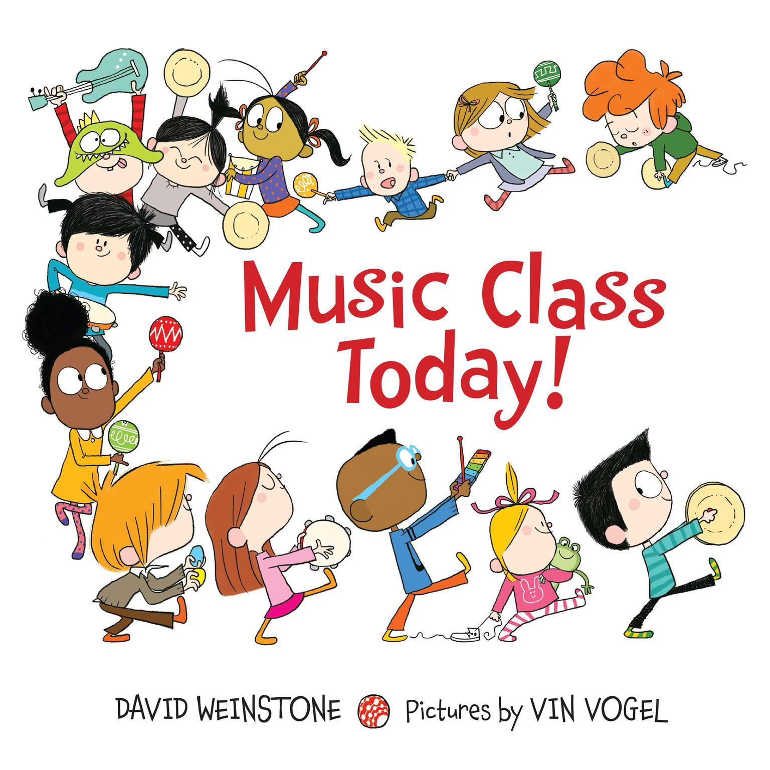 Printable Music Class Today! Audiobook Cover Art