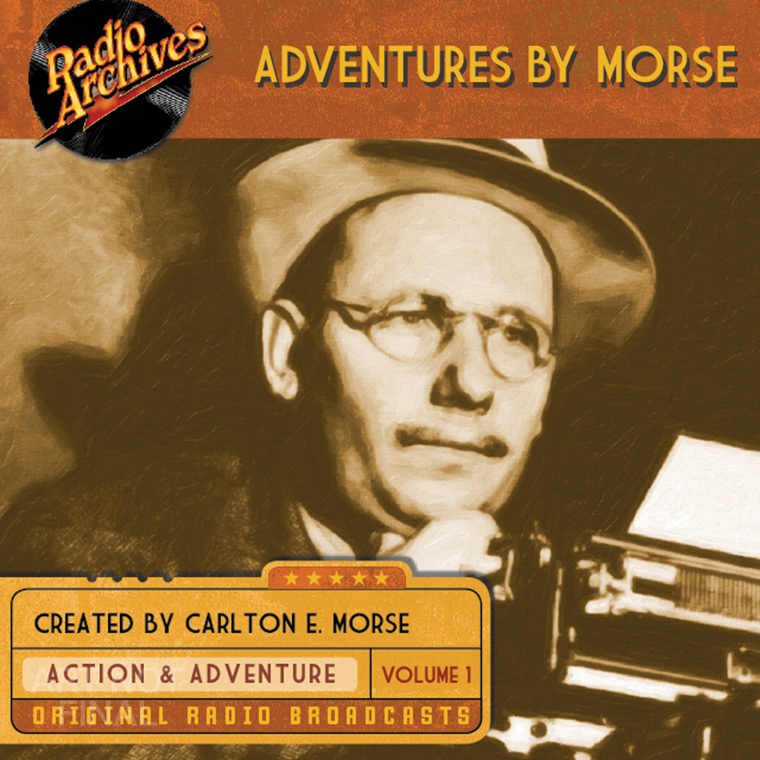Printable Adventures by Morse, Vol. 1 Audiobook Cover Art