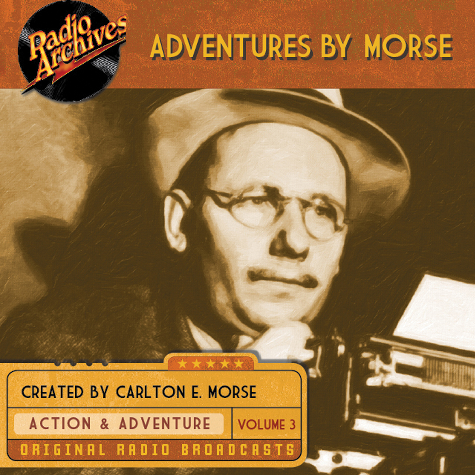 Printable Adventures by Morse, Vol. 3 Audiobook Cover Art