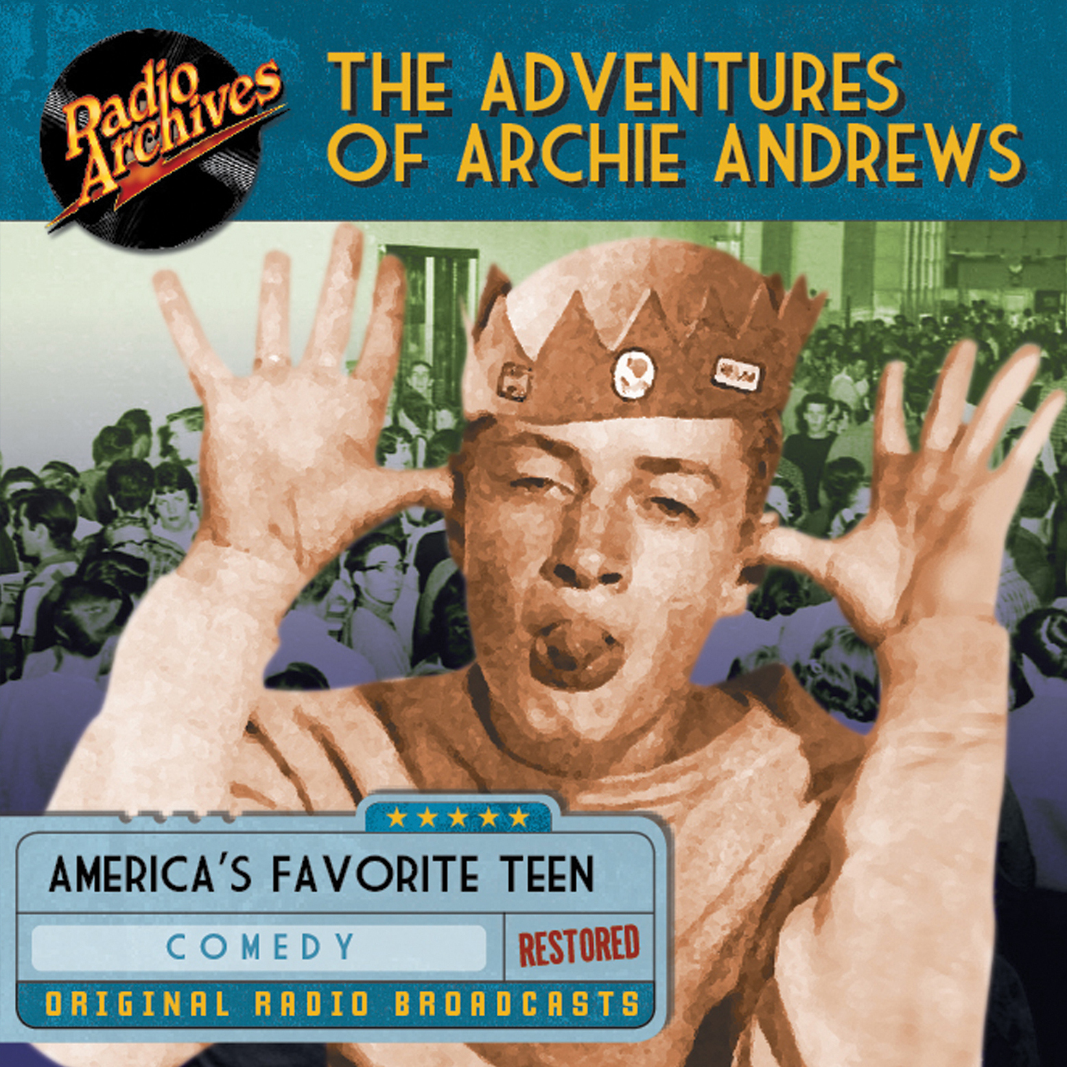 Printable The Adventures of Archie Andrews Audiobook Cover Art