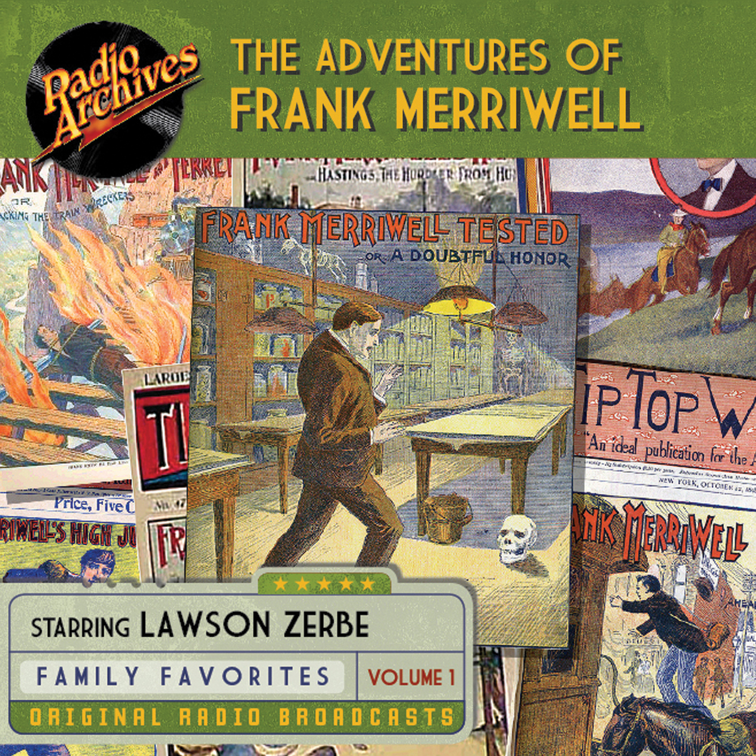 Printable The Adventures of Frank Merriwell, Vol. 1 Audiobook Cover Art