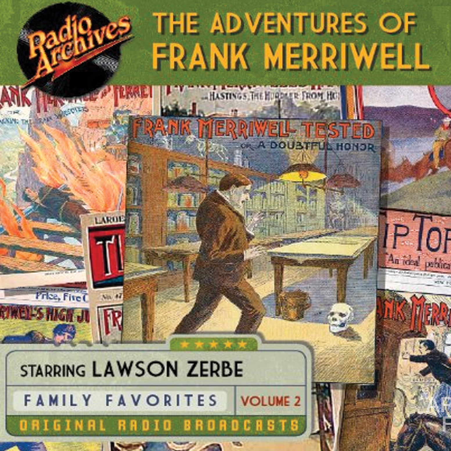 Printable The Adventures of Frank Merriwell, Vol. 2 Audiobook Cover Art
