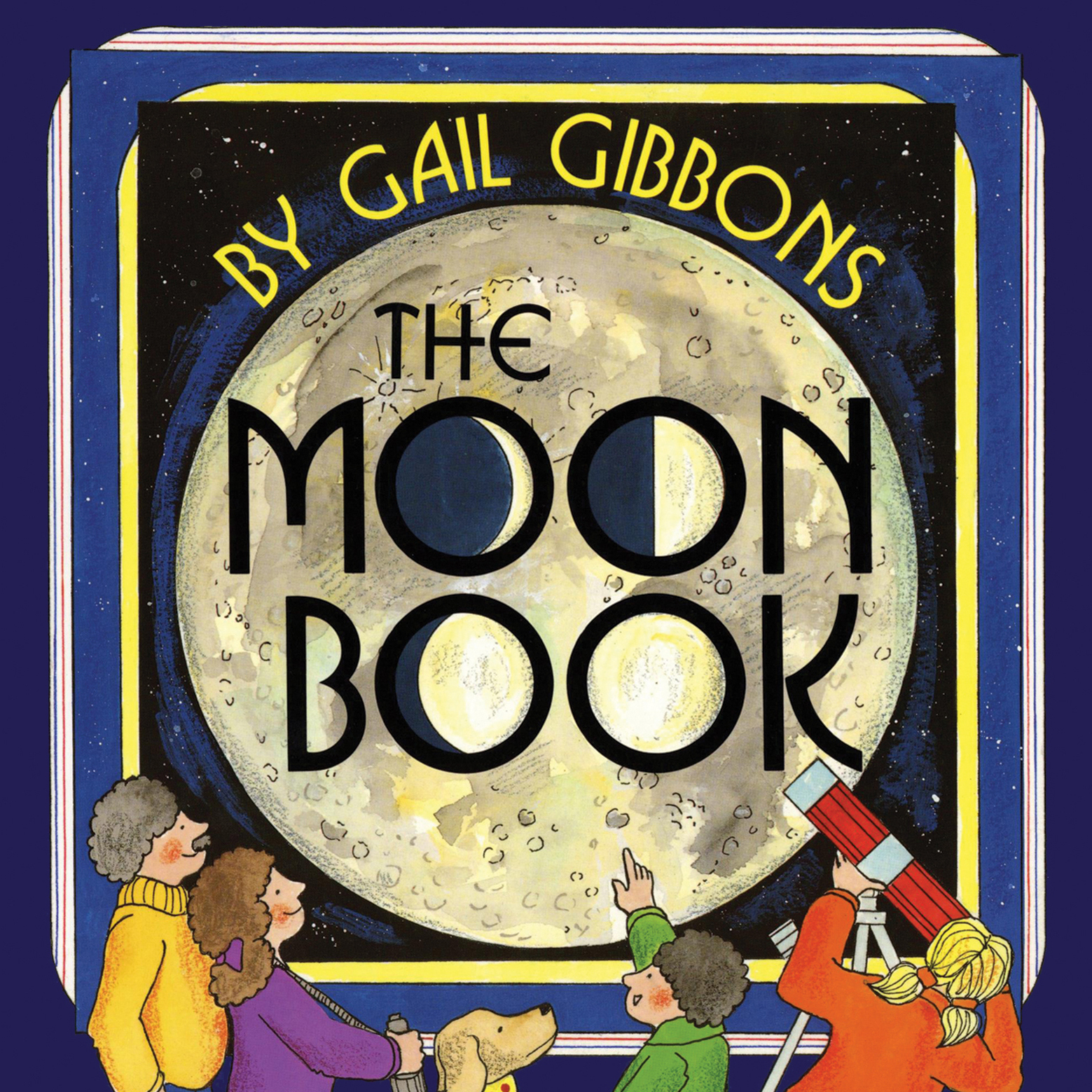 Printable The Moon Book Audiobook Cover Art
