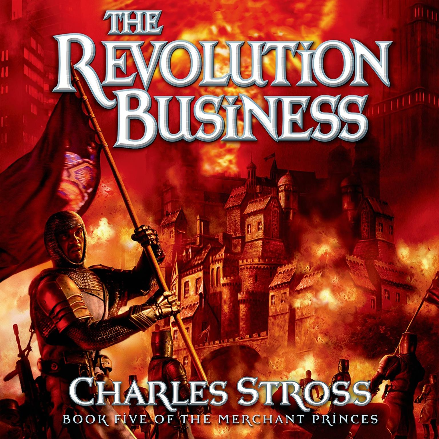 Printable The Revolution Business: Book Five of the Merchant Princes Audiobook Cover Art