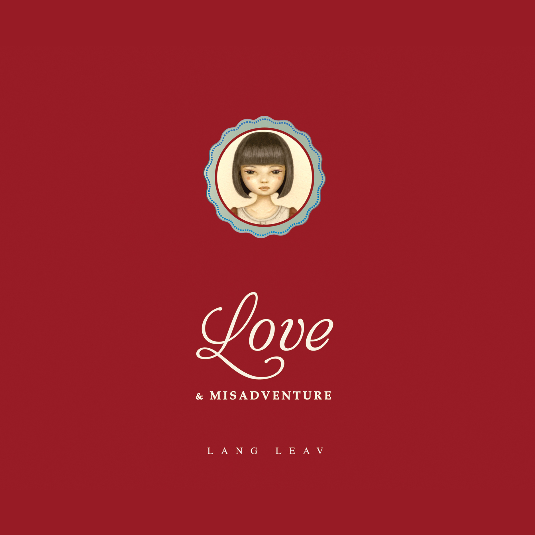 Printable Love & Misadventure Audiobook Cover Art