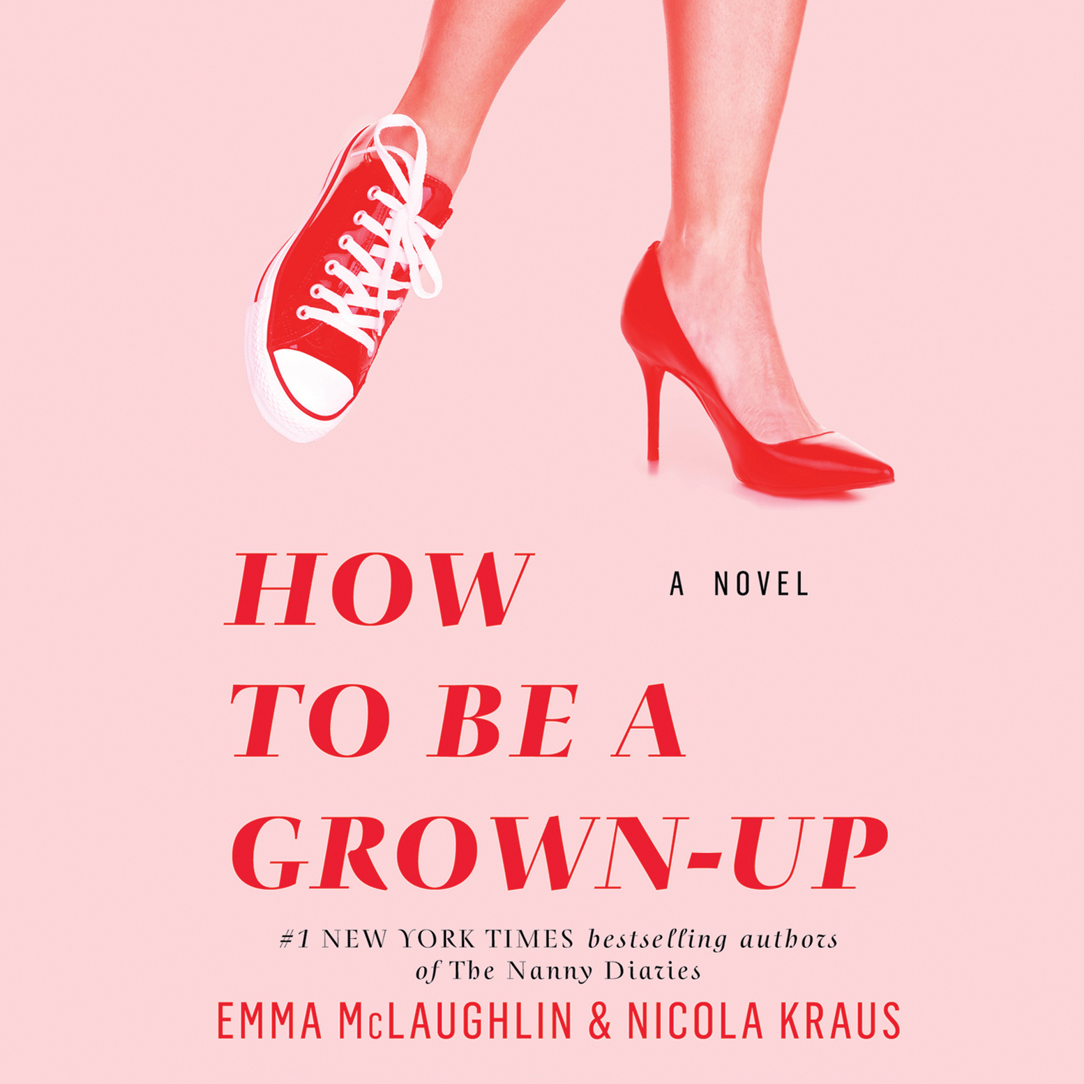 Printable How to Be a Grown-Up Audiobook Cover Art