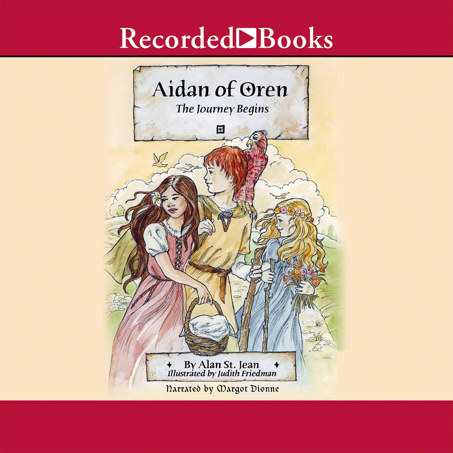 Printable Aidan of Oren: The Journey Begins Audiobook Cover Art