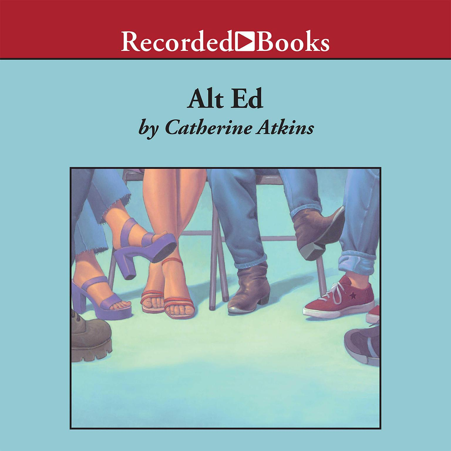 Printable Alt Ed Audiobook Cover Art