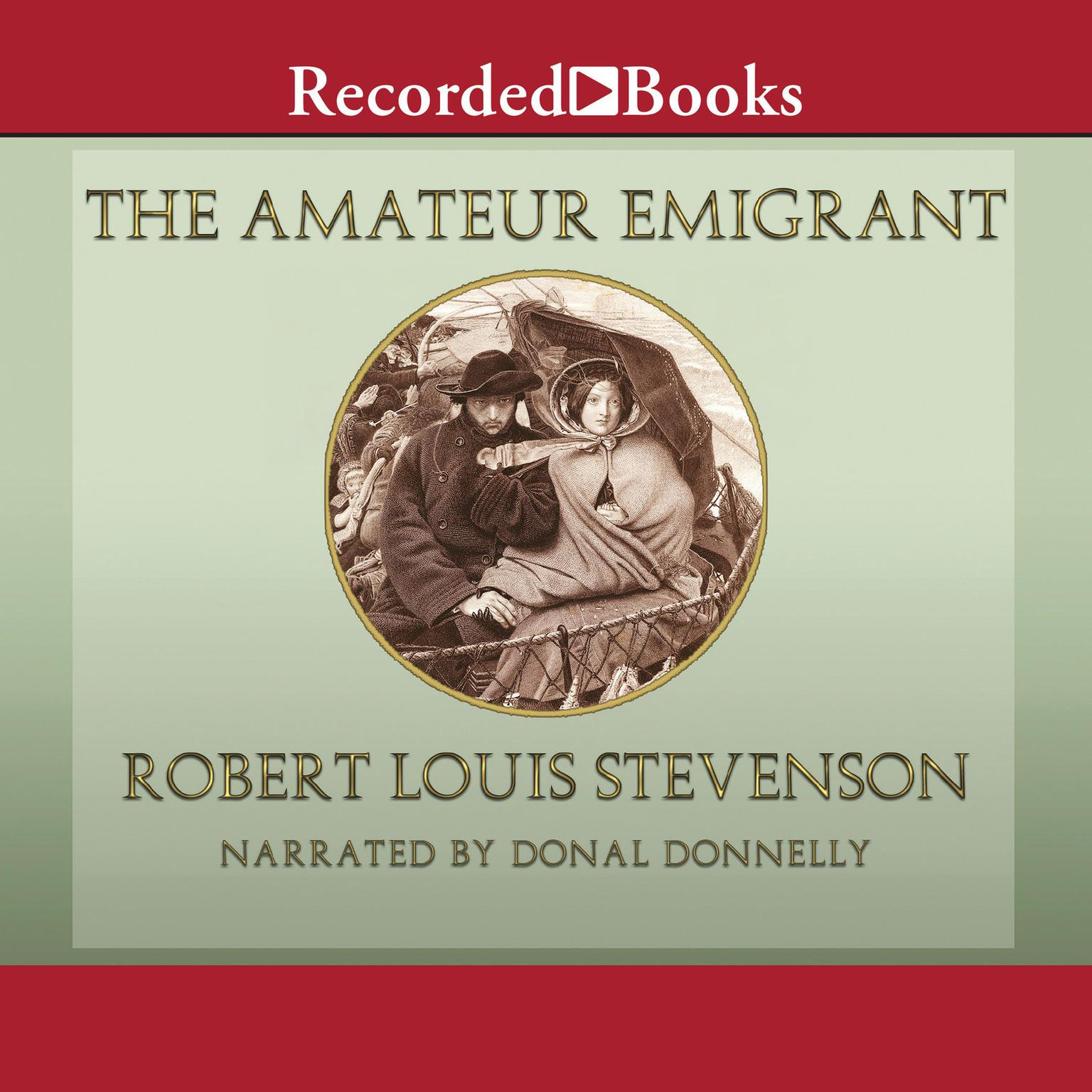 Printable The Amateur Emigrant Audiobook Cover Art