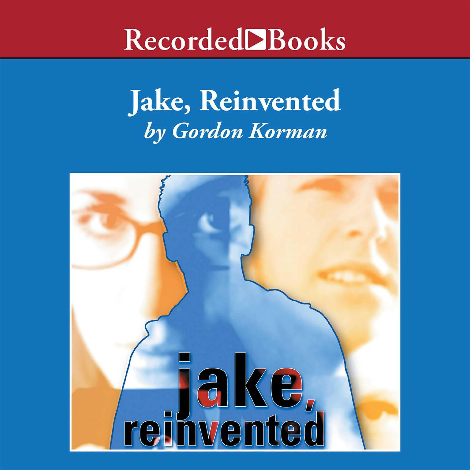 Printable Jake Reinvented Audiobook Cover Art