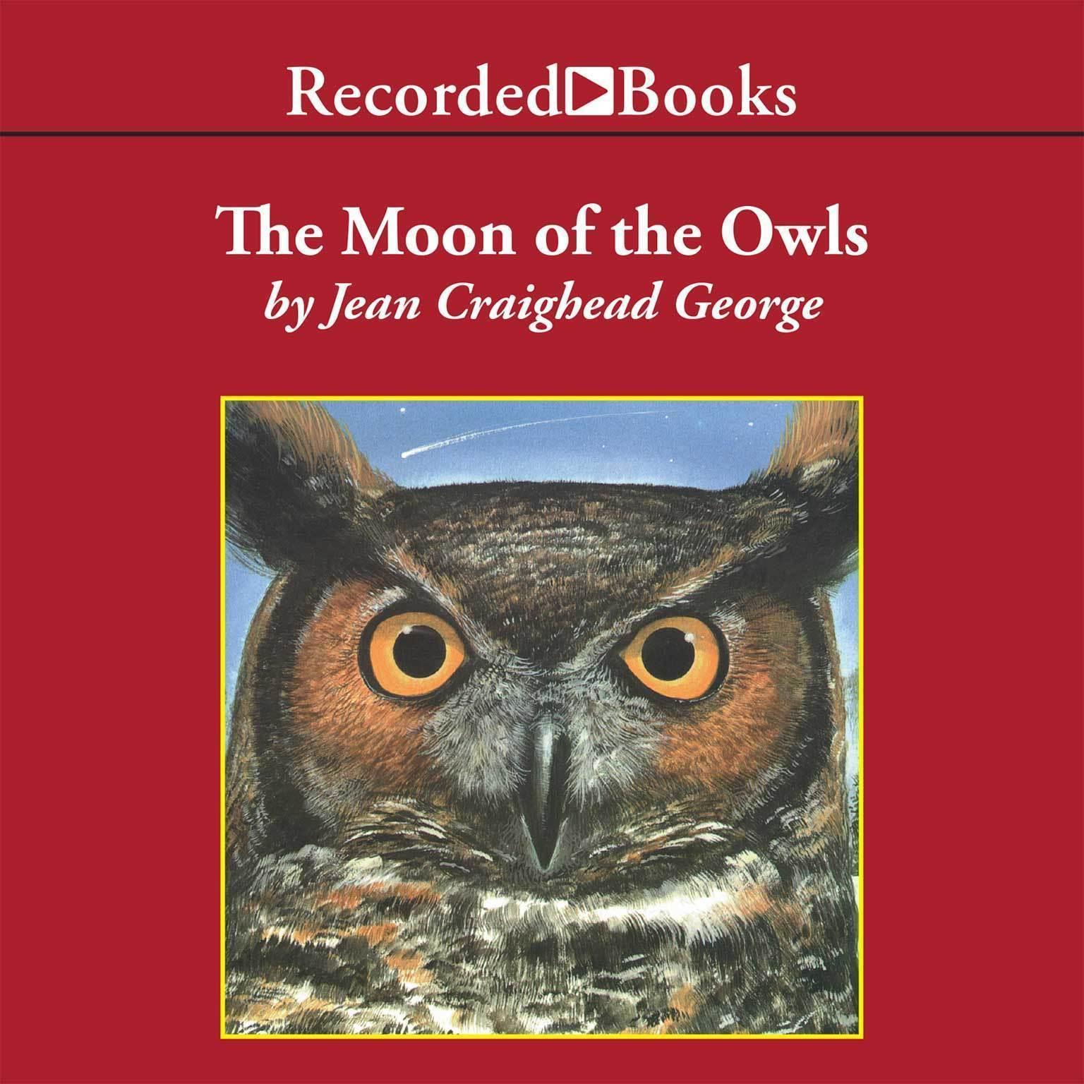 Printable The Moon of the Owls Audiobook Cover Art