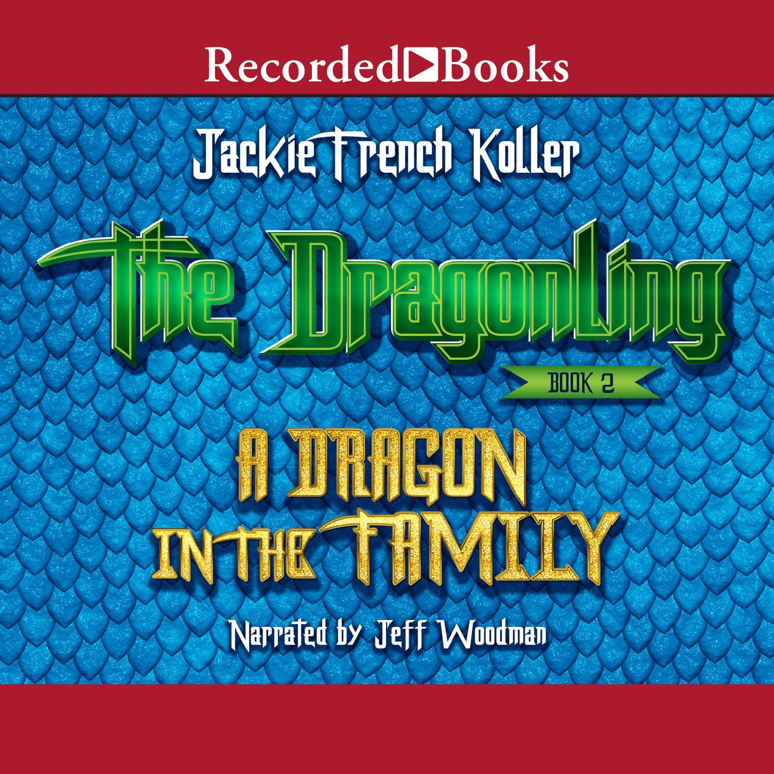 Printable A Dragon in the Family Audiobook Cover Art