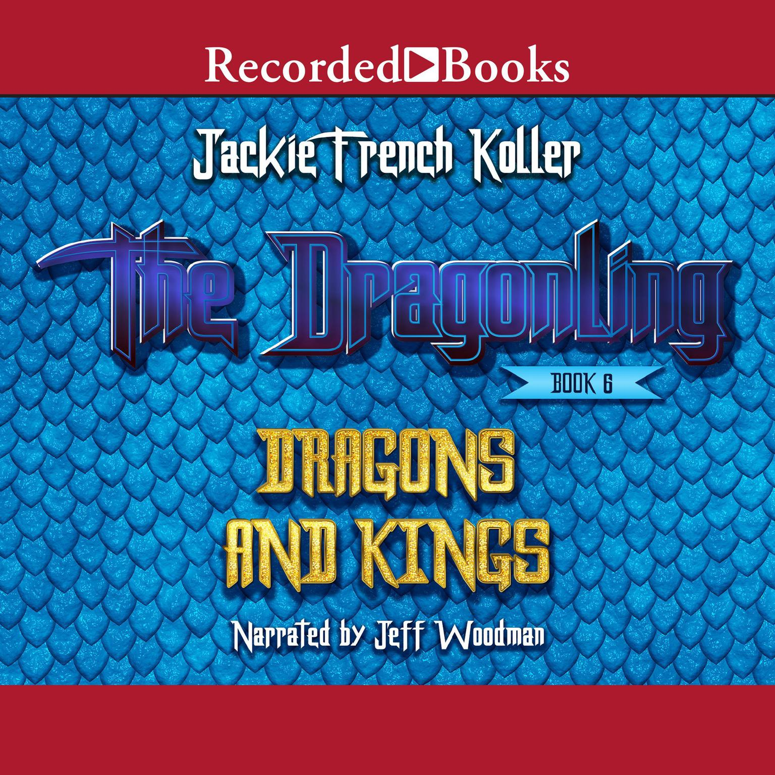 Printable Dragons and Kings Audiobook Cover Art