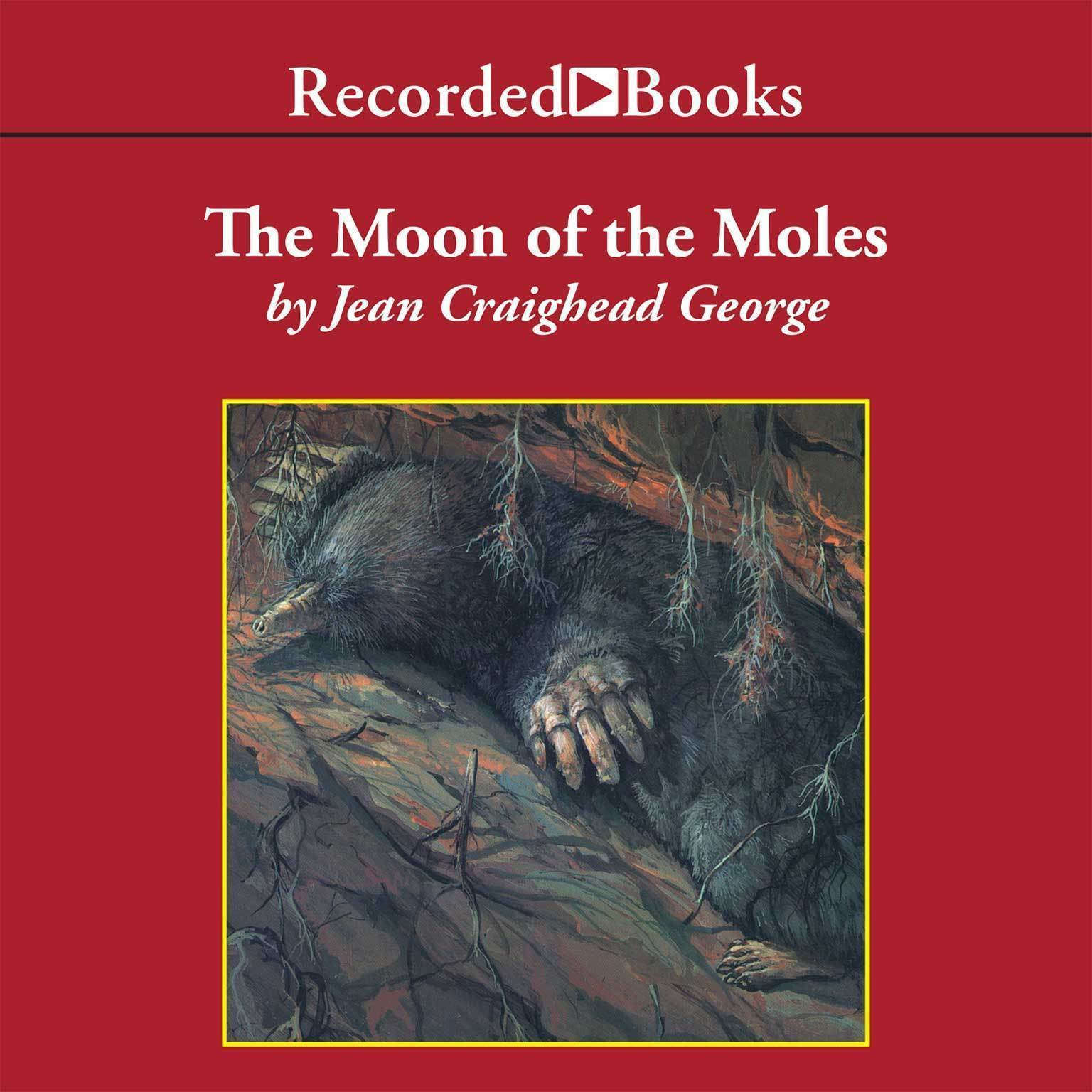 Printable The Moon of the Moles Audiobook Cover Art