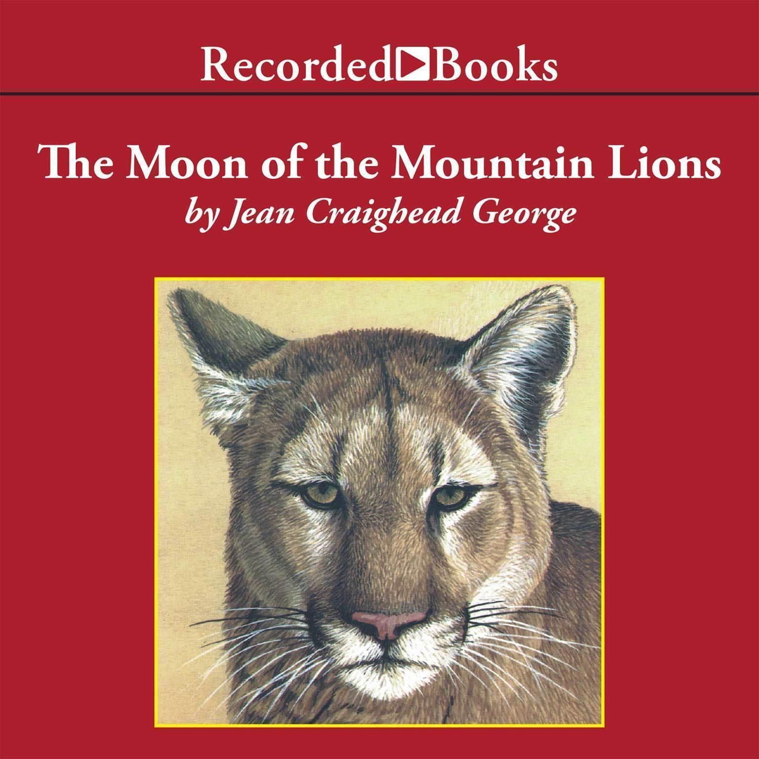 Printable The Moon of the Mountain Lions Audiobook Cover Art