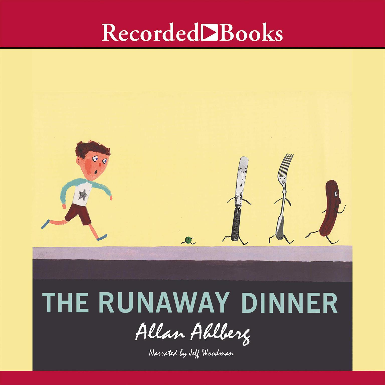Printable The Runaway Dinner Audiobook Cover Art