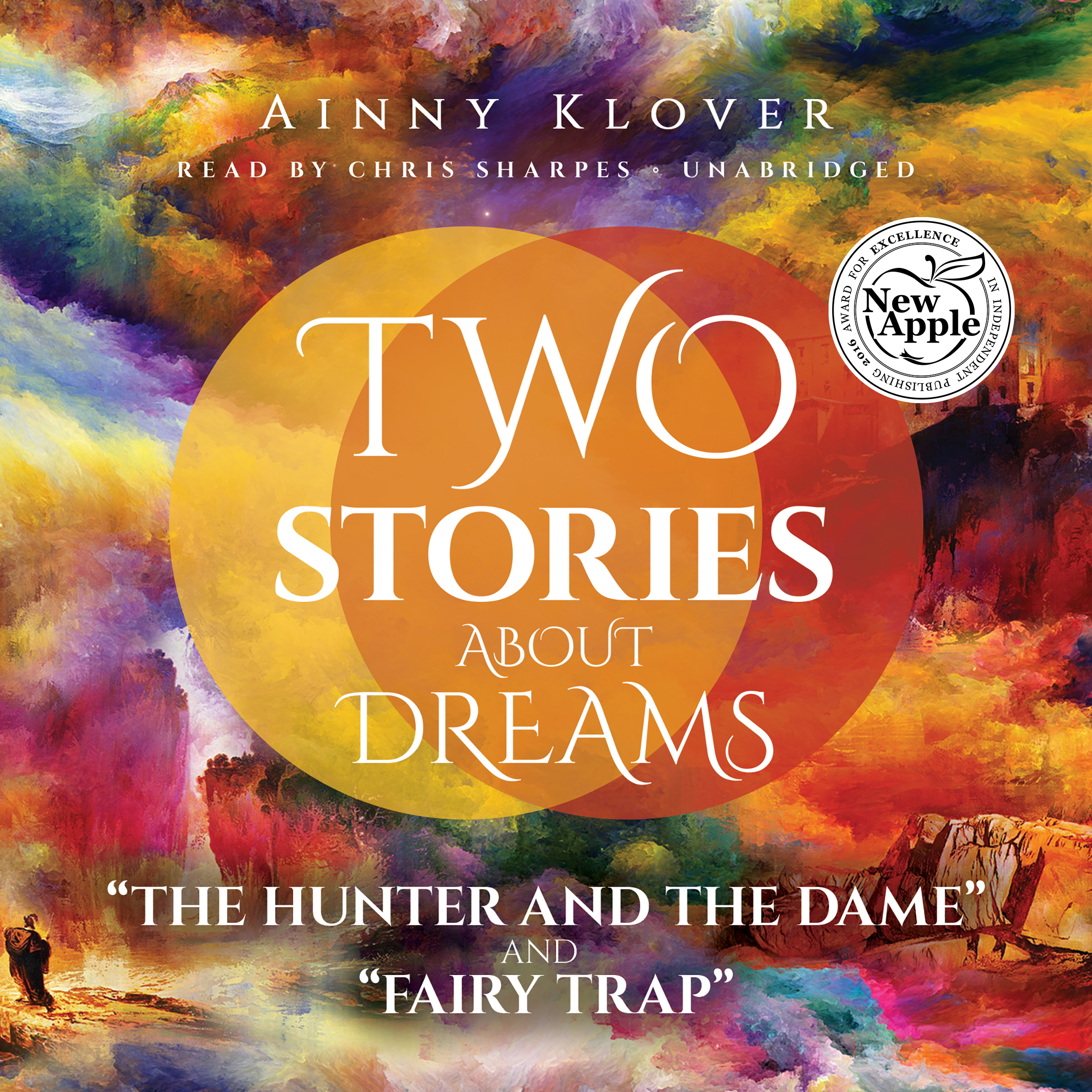 "Printable Two Stories about Dreams: ""The Hunter and the Dame"" and ""Fairy Trap"" Audiobook Cover Art"