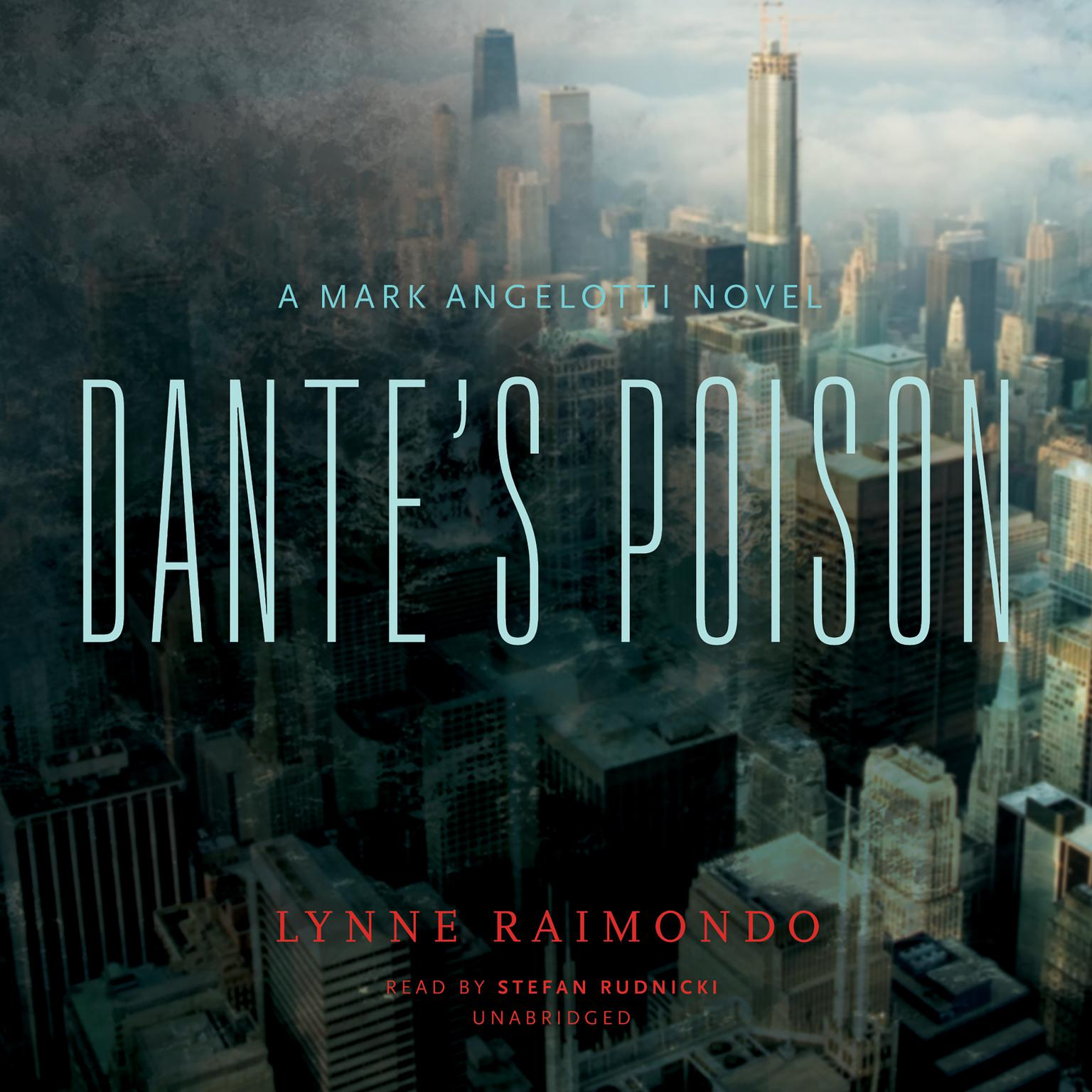 Printable Dante's Poison: A Mark Angelotti Novel Audiobook Cover Art