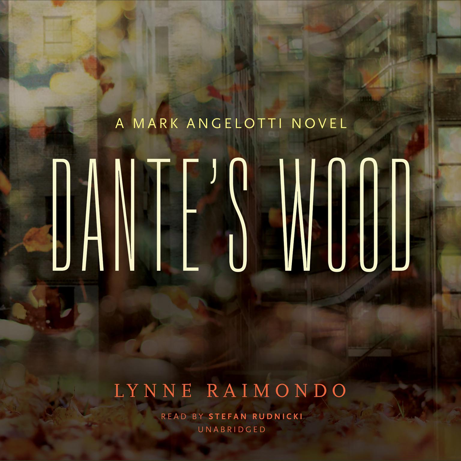 Printable Dante's Wood: A Mark Angelotti Novel Audiobook Cover Art