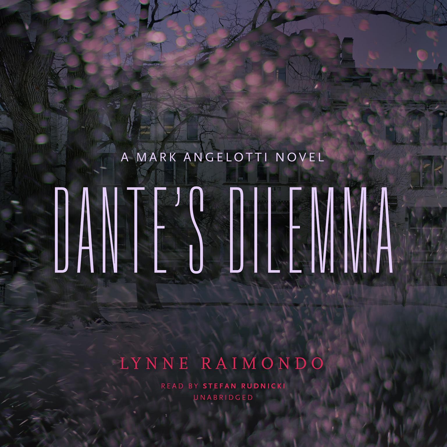 Printable Dante's Dilemma: A Mark Angelotti Novel Audiobook Cover Art