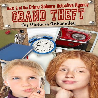 Grand Theft Audiobook, by Victoria Schwimley