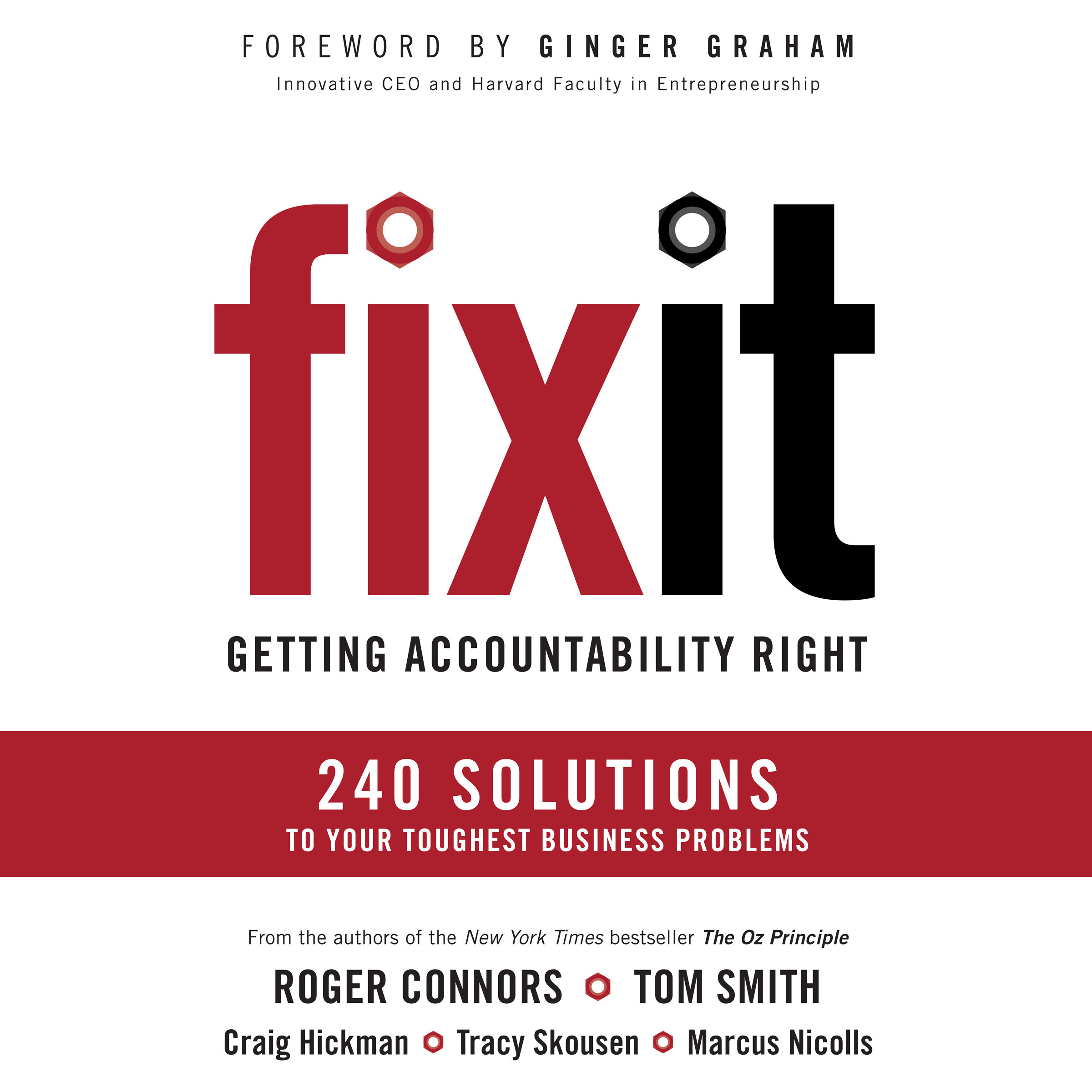 Printable Fix It: Getting Accountability Right Audiobook Cover Art