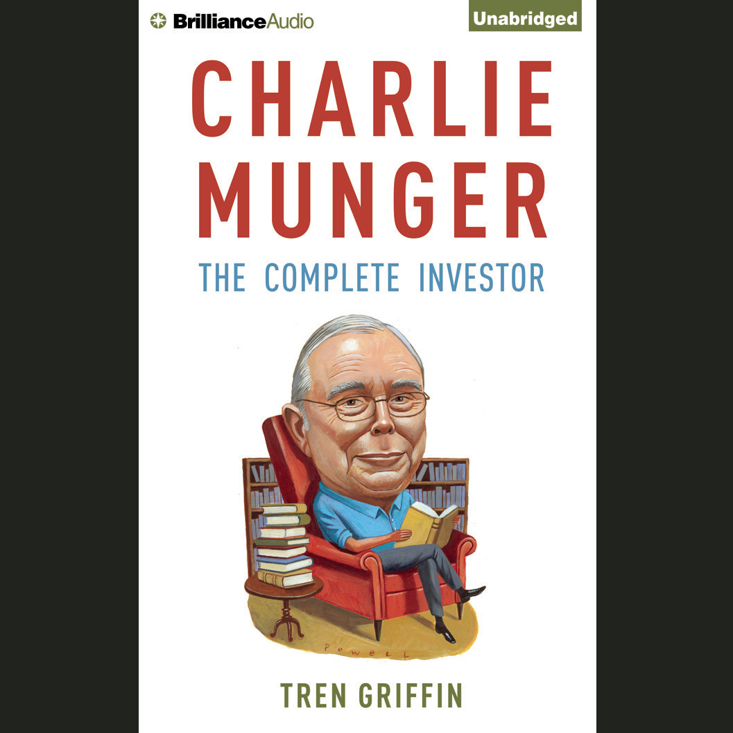 Printable Charlie Munger: The Complete Investor Audiobook Cover Art