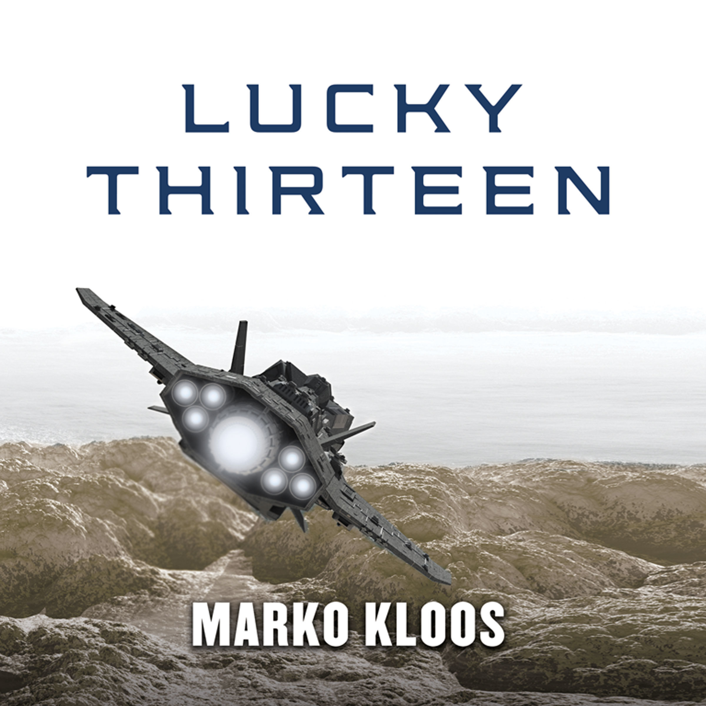 Printable Lucky Thirteen Audiobook Cover Art