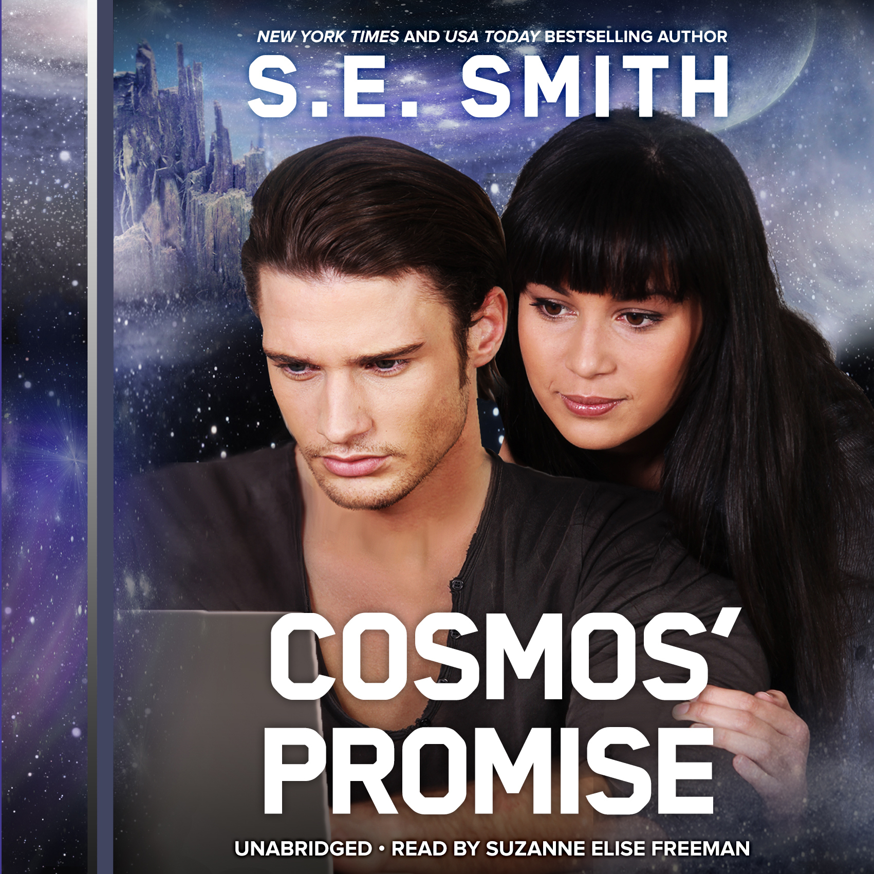 Printable Cosmos' Promise Audiobook Cover Art