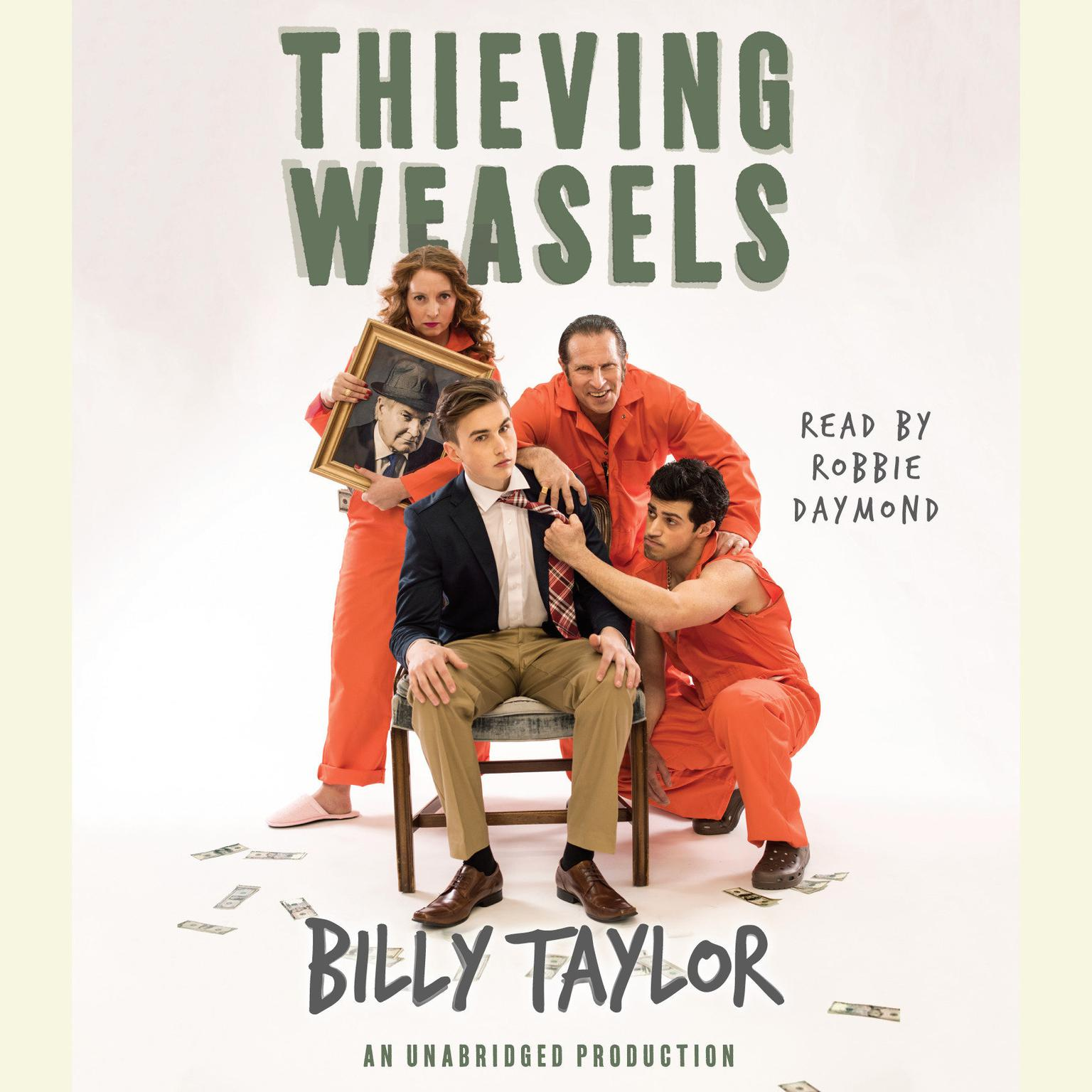 Printable Thieving Weasels Audiobook Cover Art