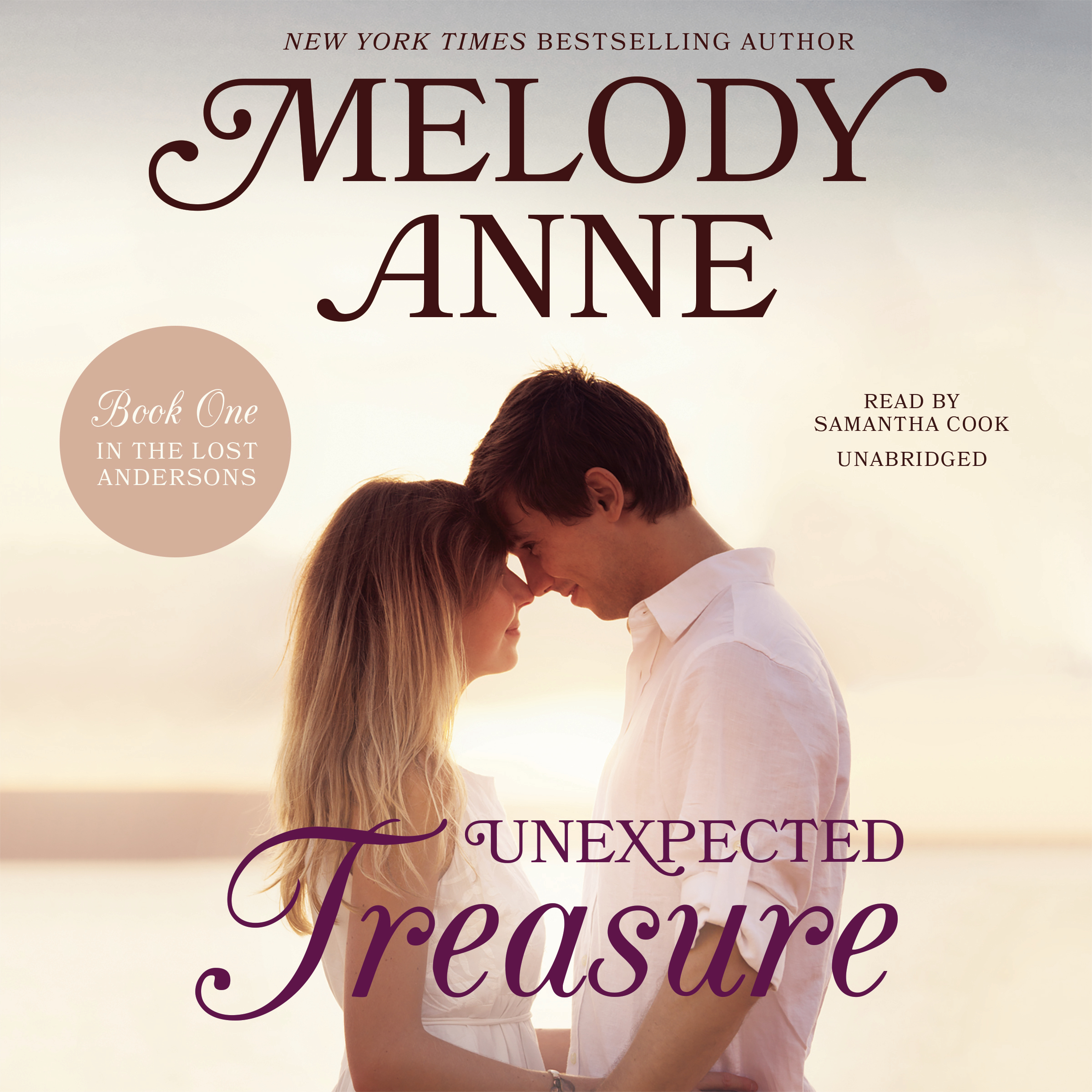 Printable Unexpected Treasure: Book One in the Lost Andersons Audiobook Cover Art
