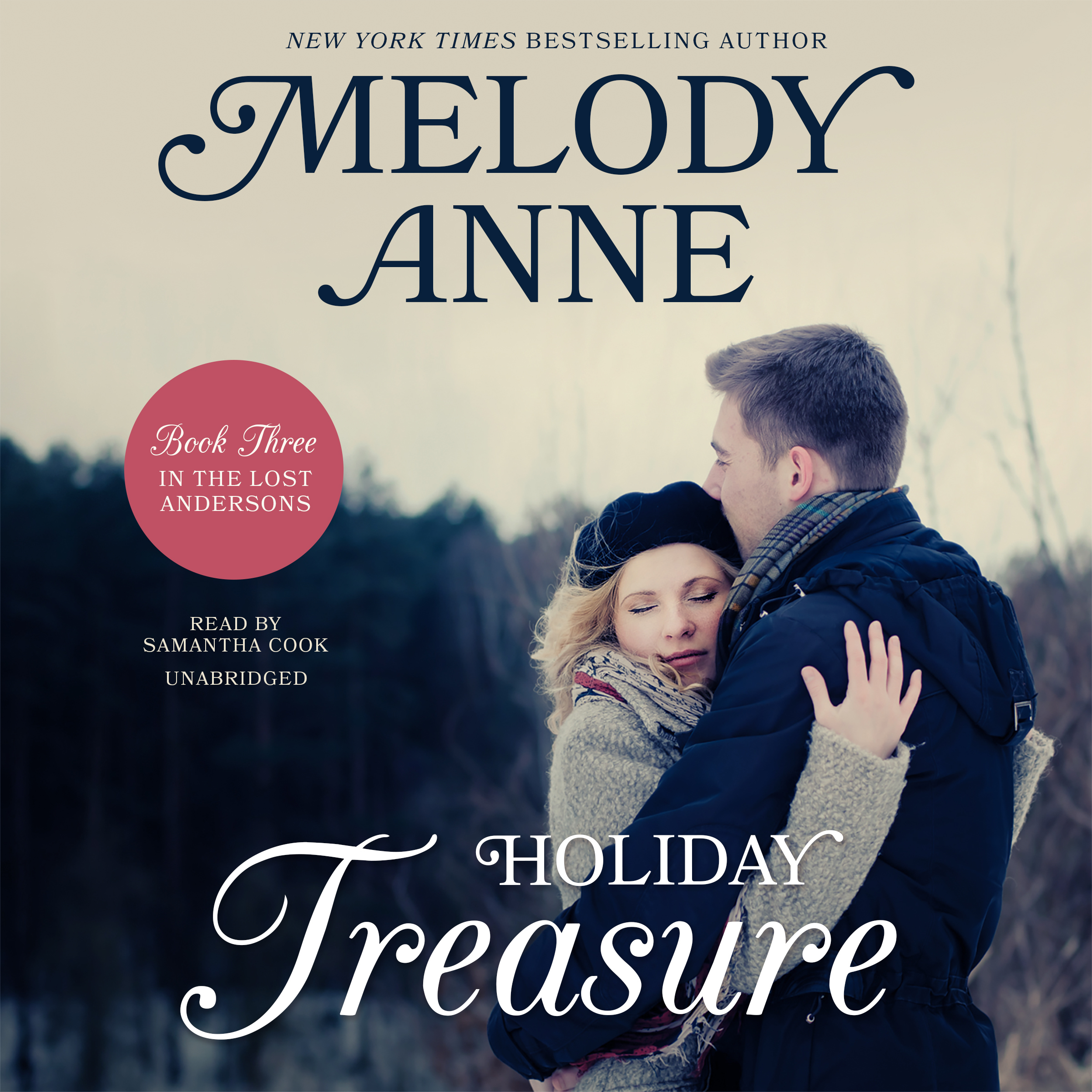 Printable Holiday Treasure: Book Three in the Lost Andersons Series Audiobook Cover Art