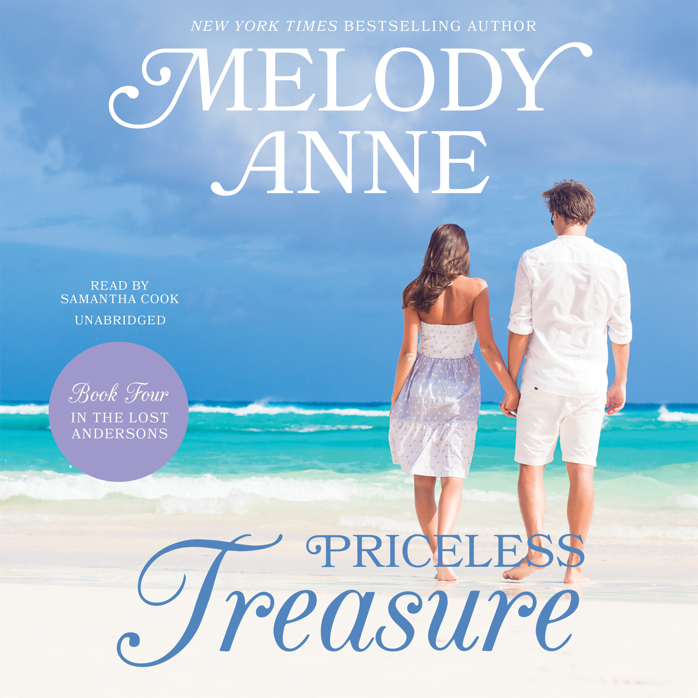 Printable Priceless Treasure: Book Four in the Lost Andersons Series Audiobook Cover Art