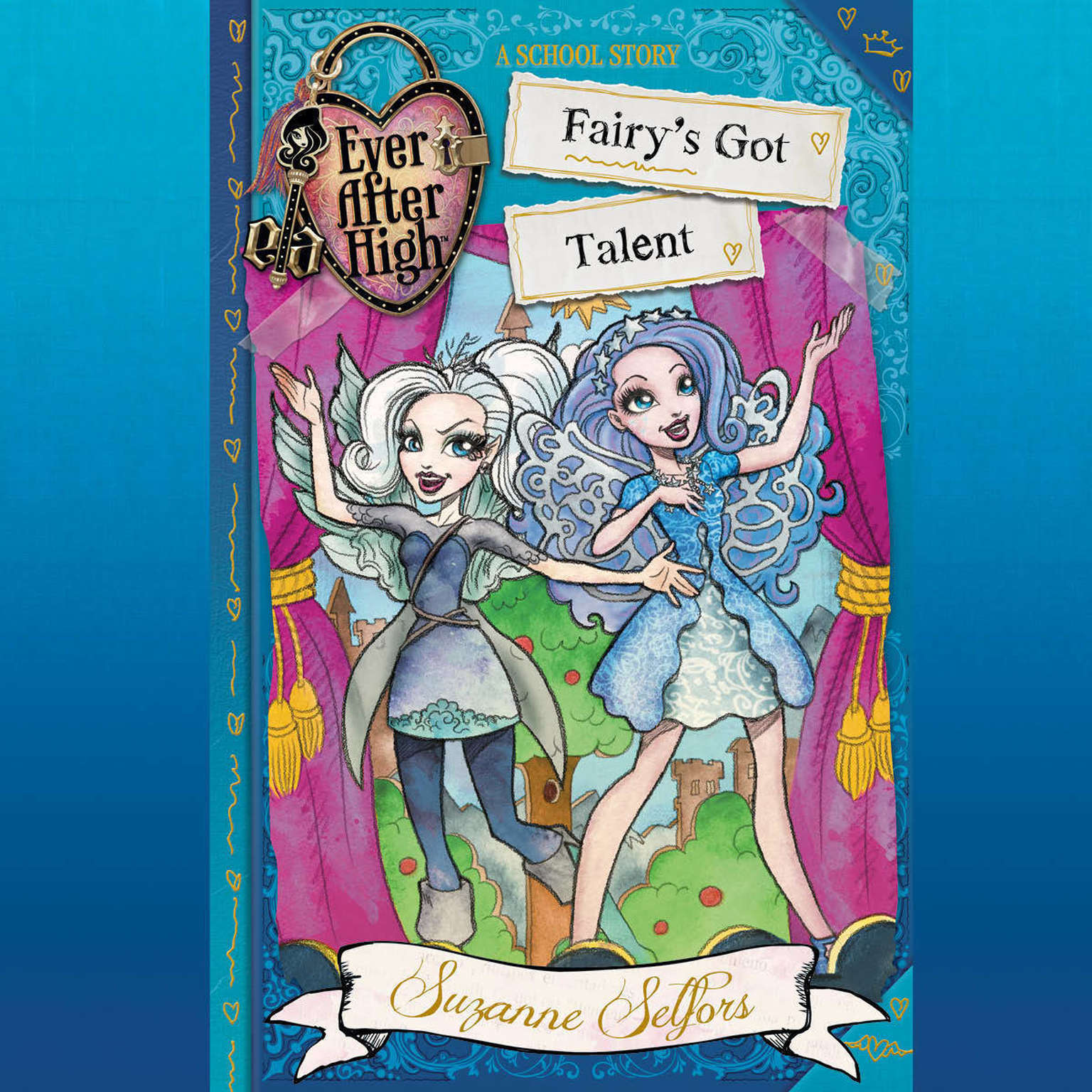 Printable Ever After High: Fairy's Got Talent Audiobook Cover Art