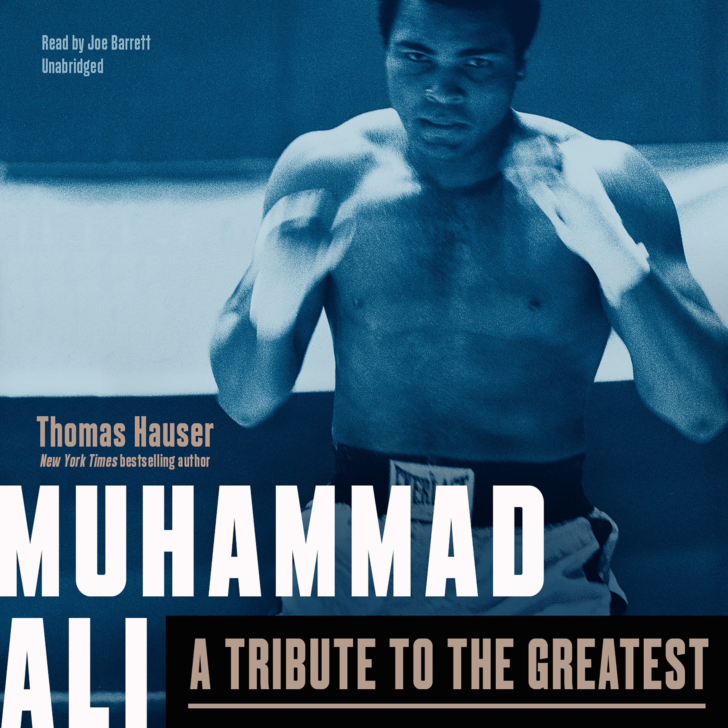Printable Muhammad Ali: A Tribute to the Greatest Audiobook Cover Art