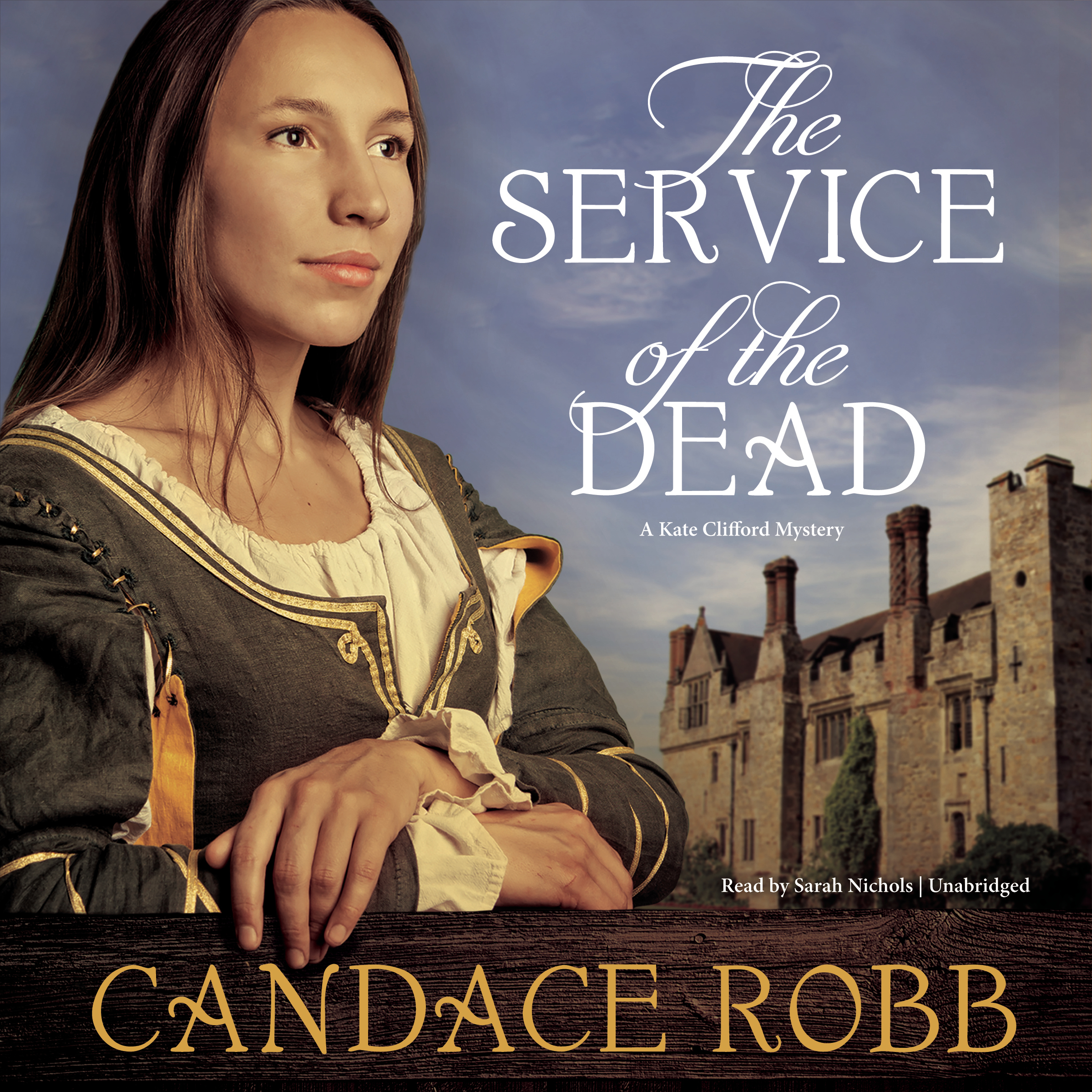 Printable The Service of the Dead: A Kate Clifford Mystery Audiobook Cover Art