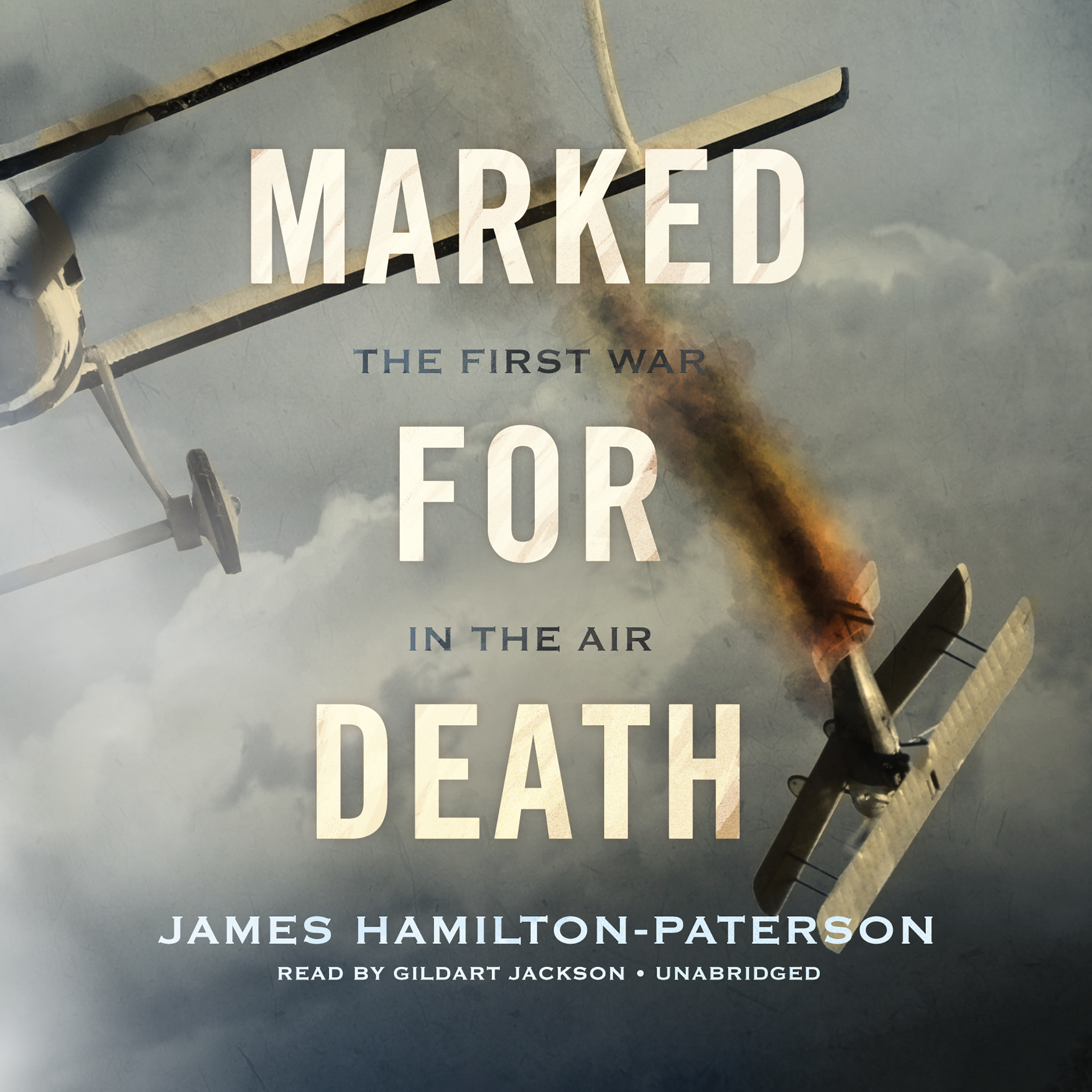 Printable Marked for Death: The First War in the Air Audiobook Cover Art