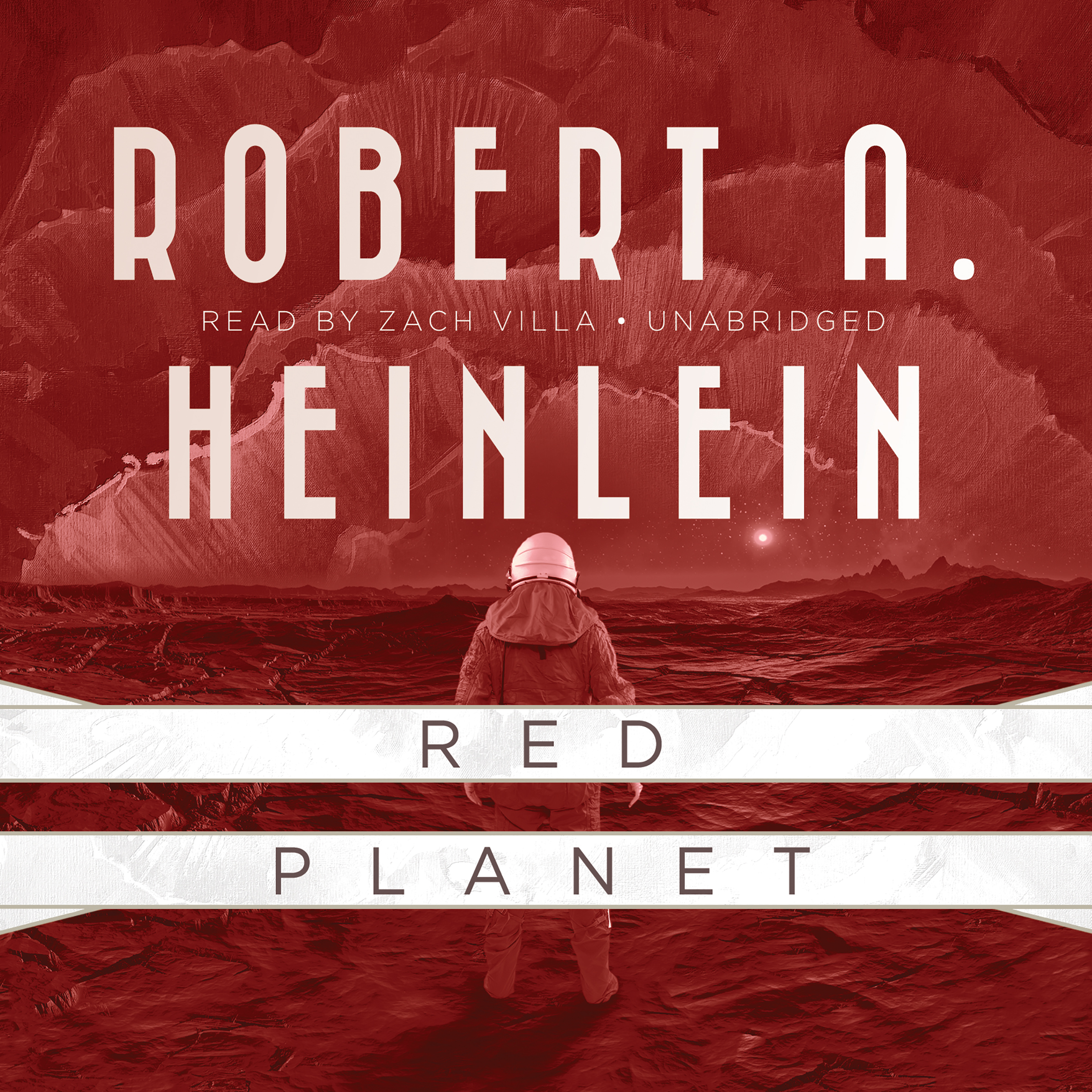 Printable Red Planet Audiobook Cover Art