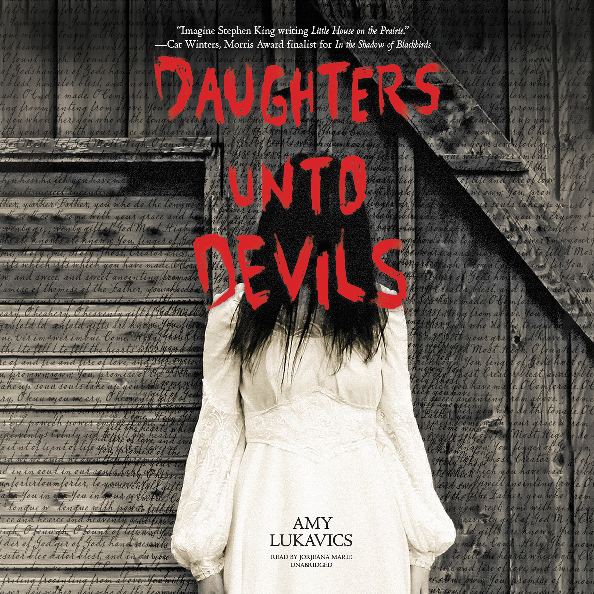 Printable Daughters unto Devils Audiobook Cover Art
